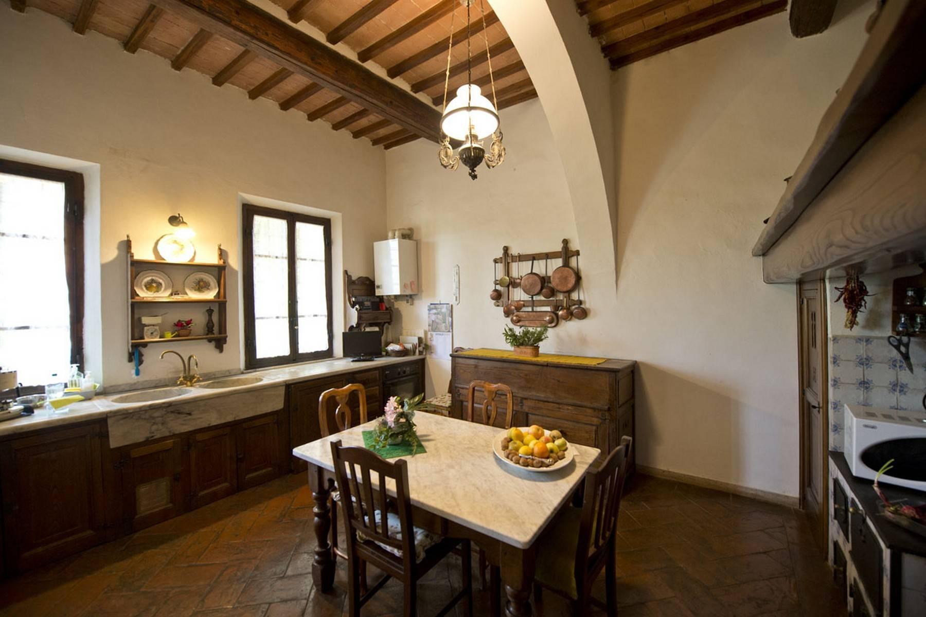 Villa aristocratique à vendre sur les collines de Sienne - 12