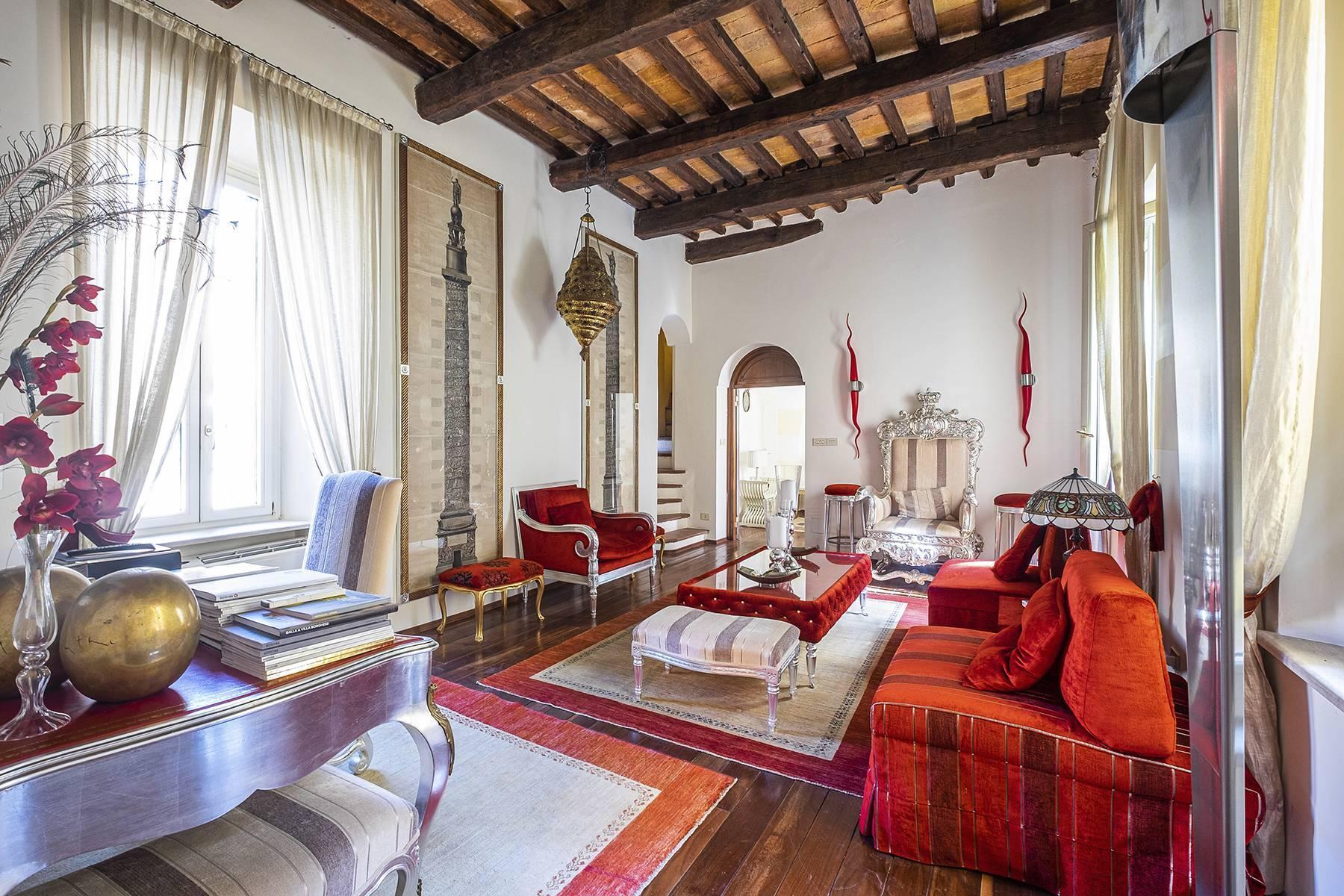 Appartement éclectique avec terrasse au coeur de Rome - 1