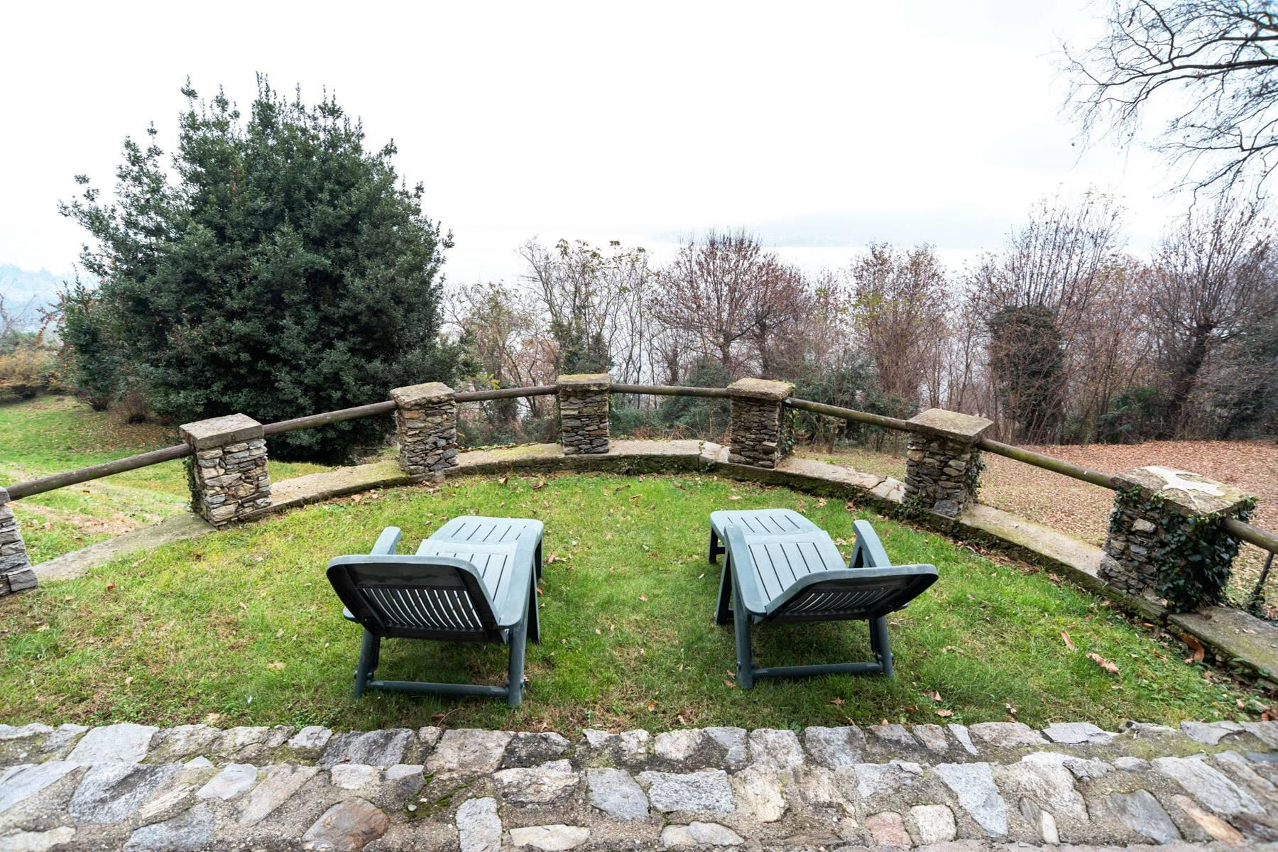 Among the hills of Massino Visconti, Villa surrounded by greenery - 1