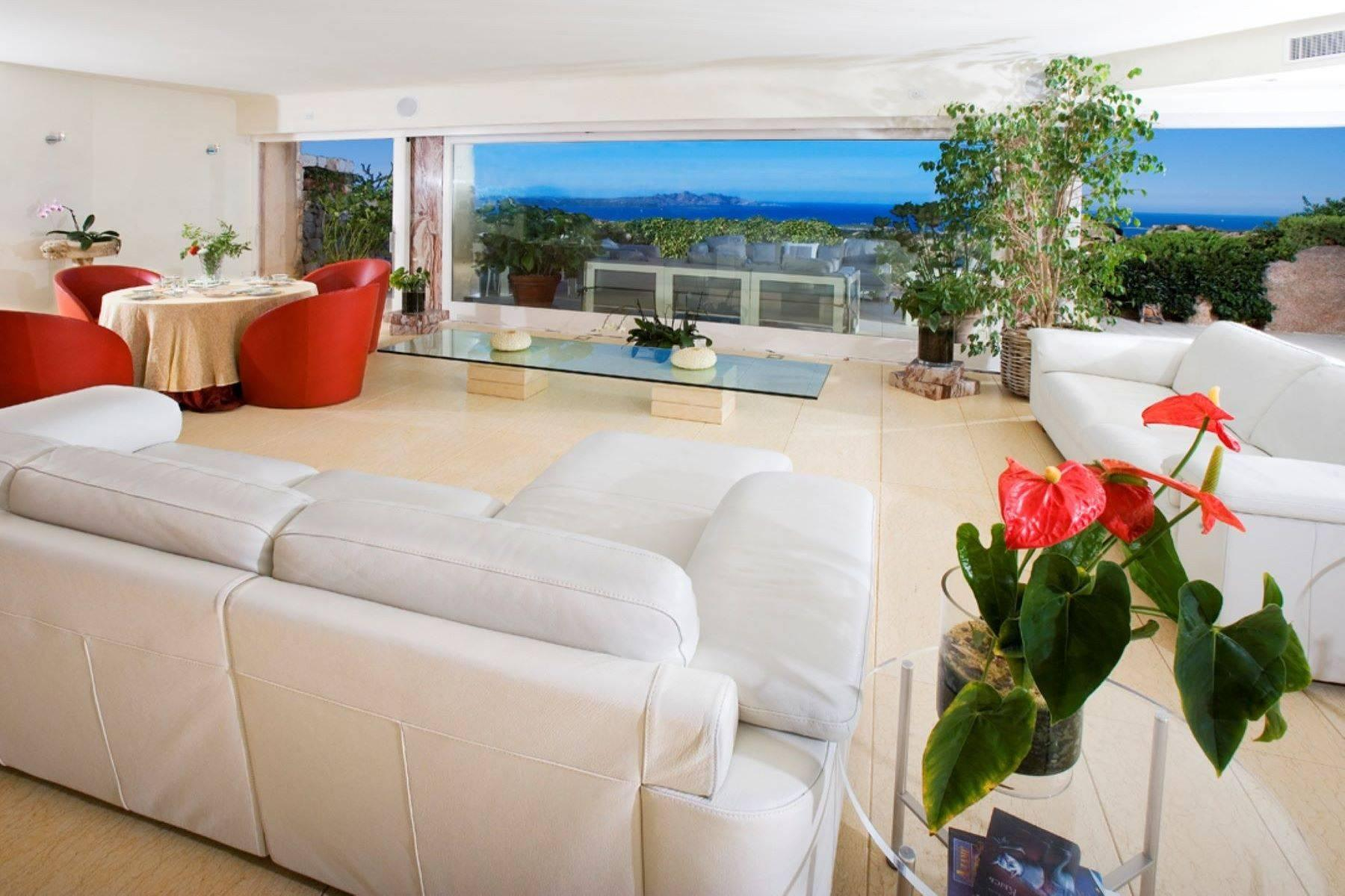 Exclusive property with stunning sea views overlooking the Costa Smeralda - 7