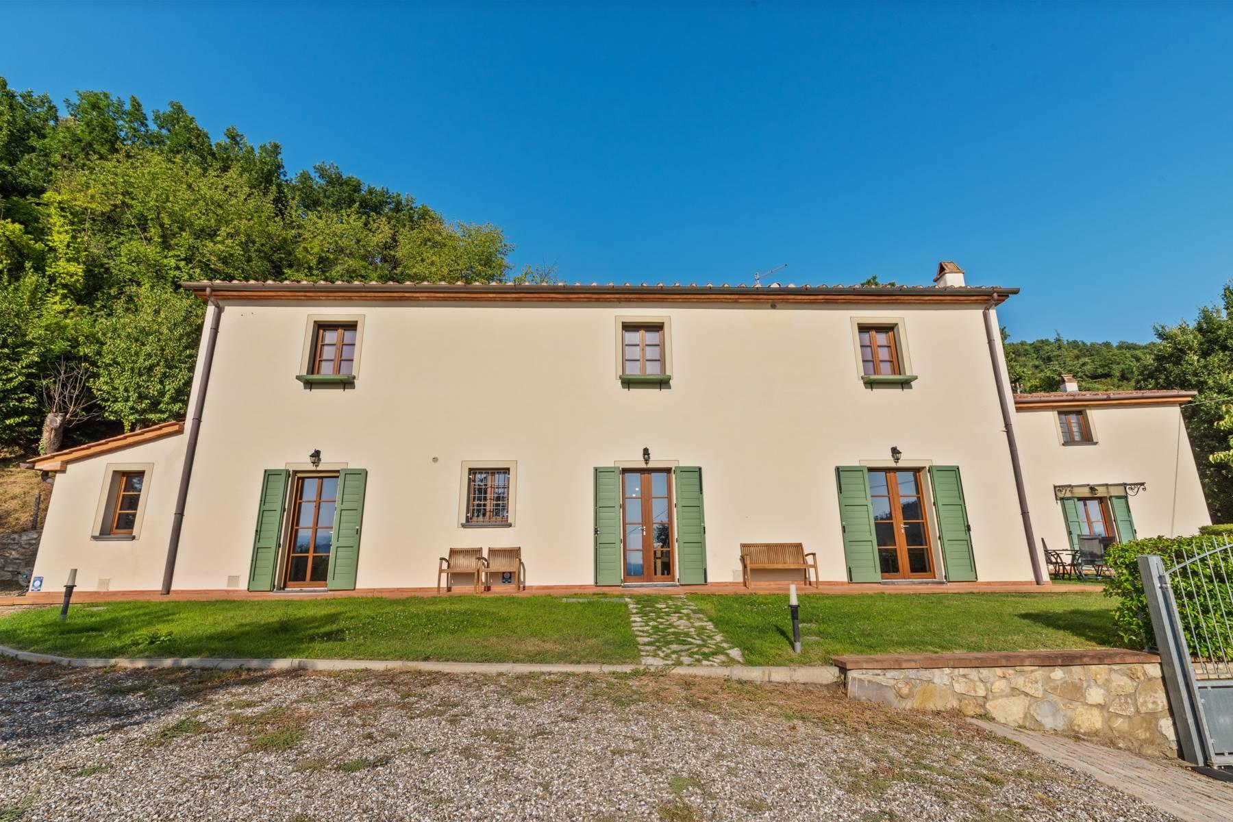 Bauernhaus mit Pool auf den Hügeln der Toskana - 25