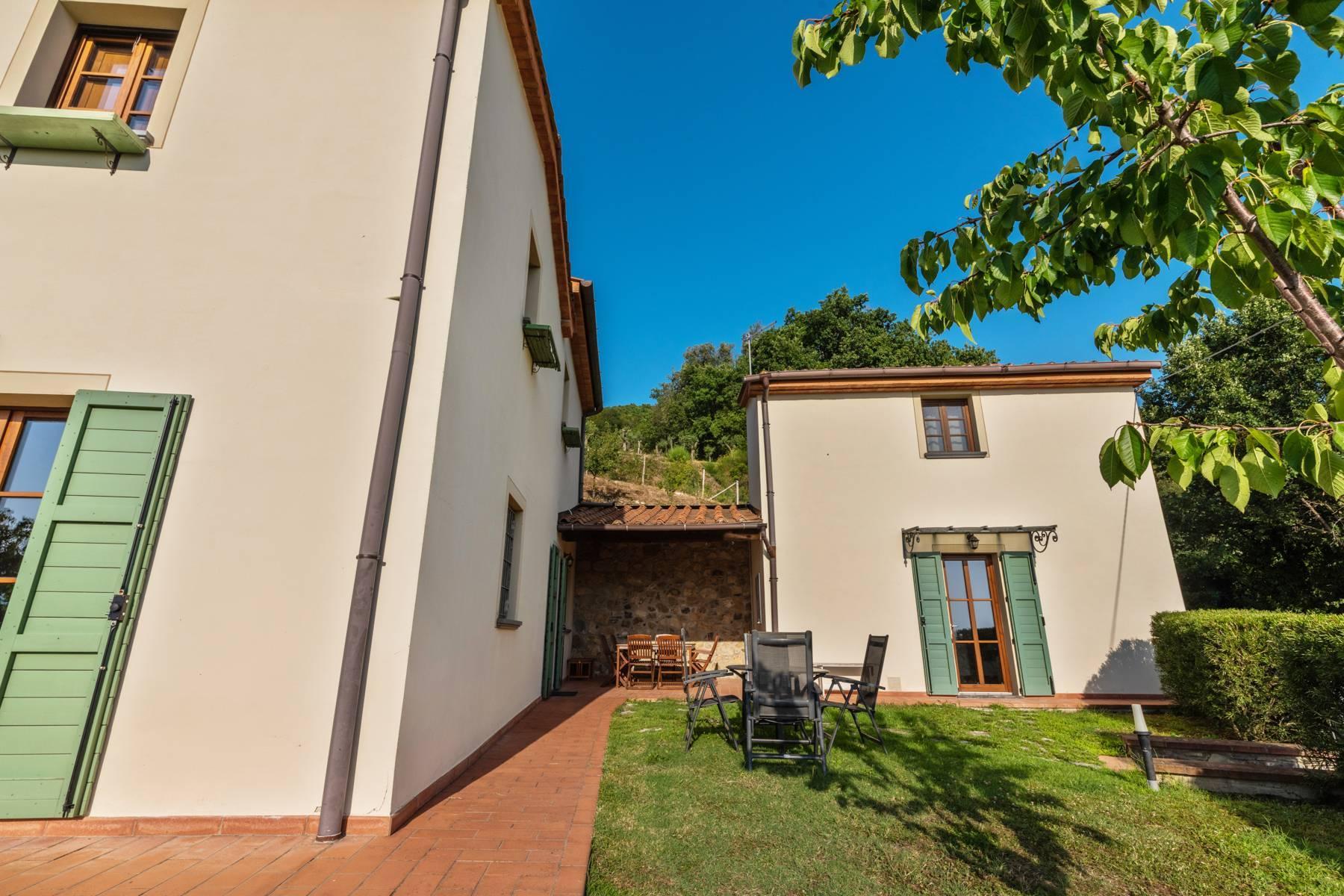 Bauernhaus mit Pool auf den Hügeln der Toskana - 12