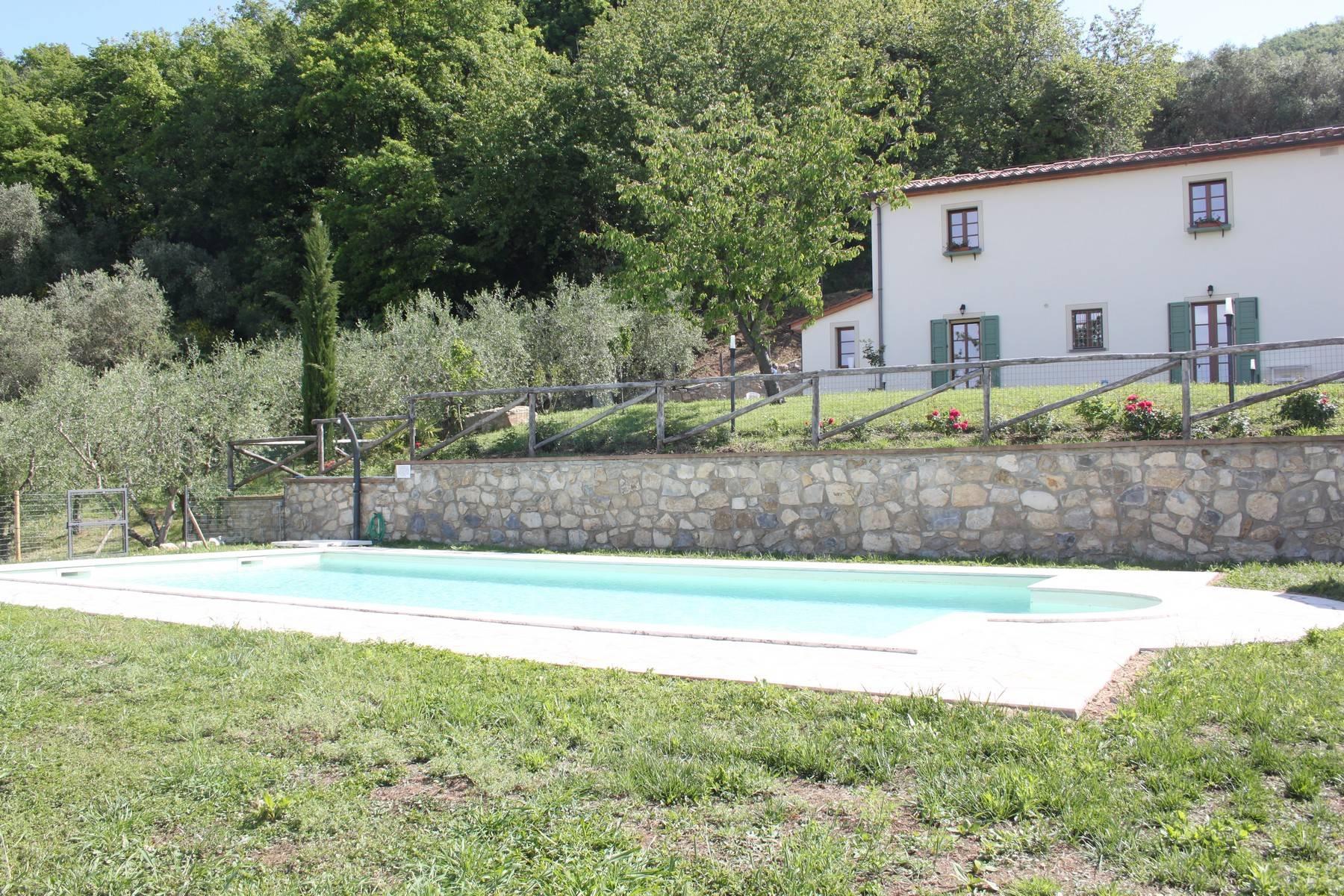 Bauernhaus mit Pool auf den Hügeln der Toskana - 26