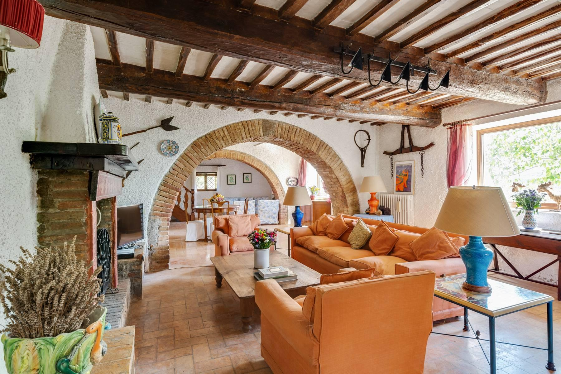 Beautiful XVII century stone farmhouse with pool and panoramic view in Orvieto - 9
