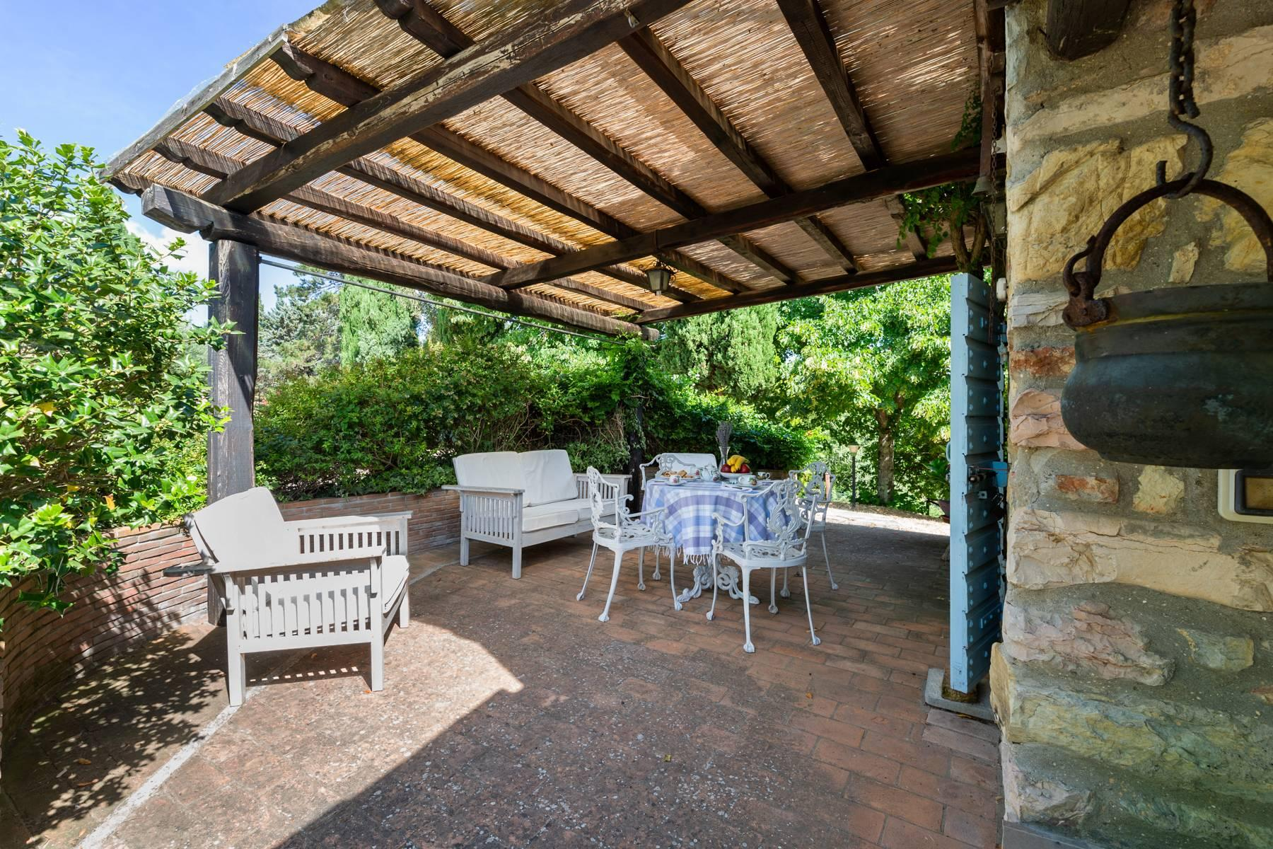 Beautiful XVII century stone farmhouse with pool and panoramic view in Orvieto - 8
