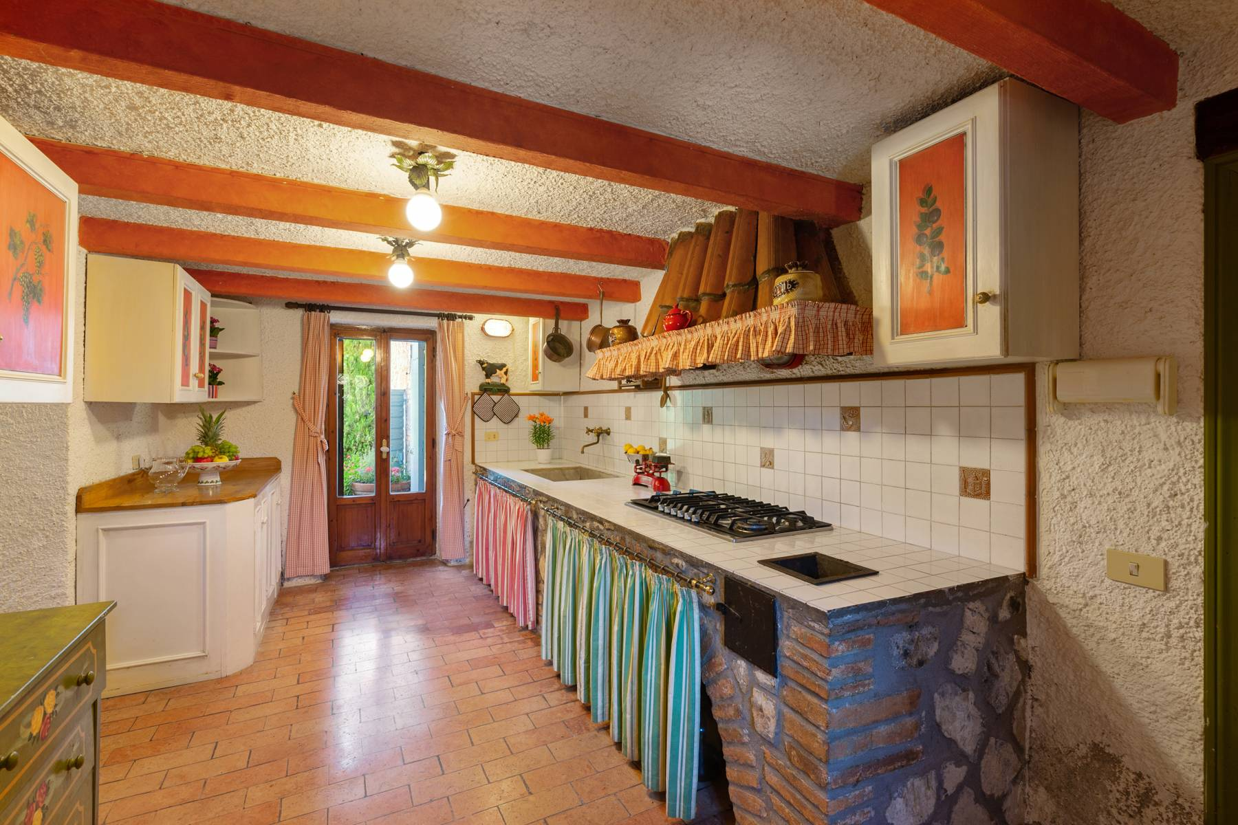 Beautiful XVII century stone farmhouse with pool and panoramic view in Orvieto - 15