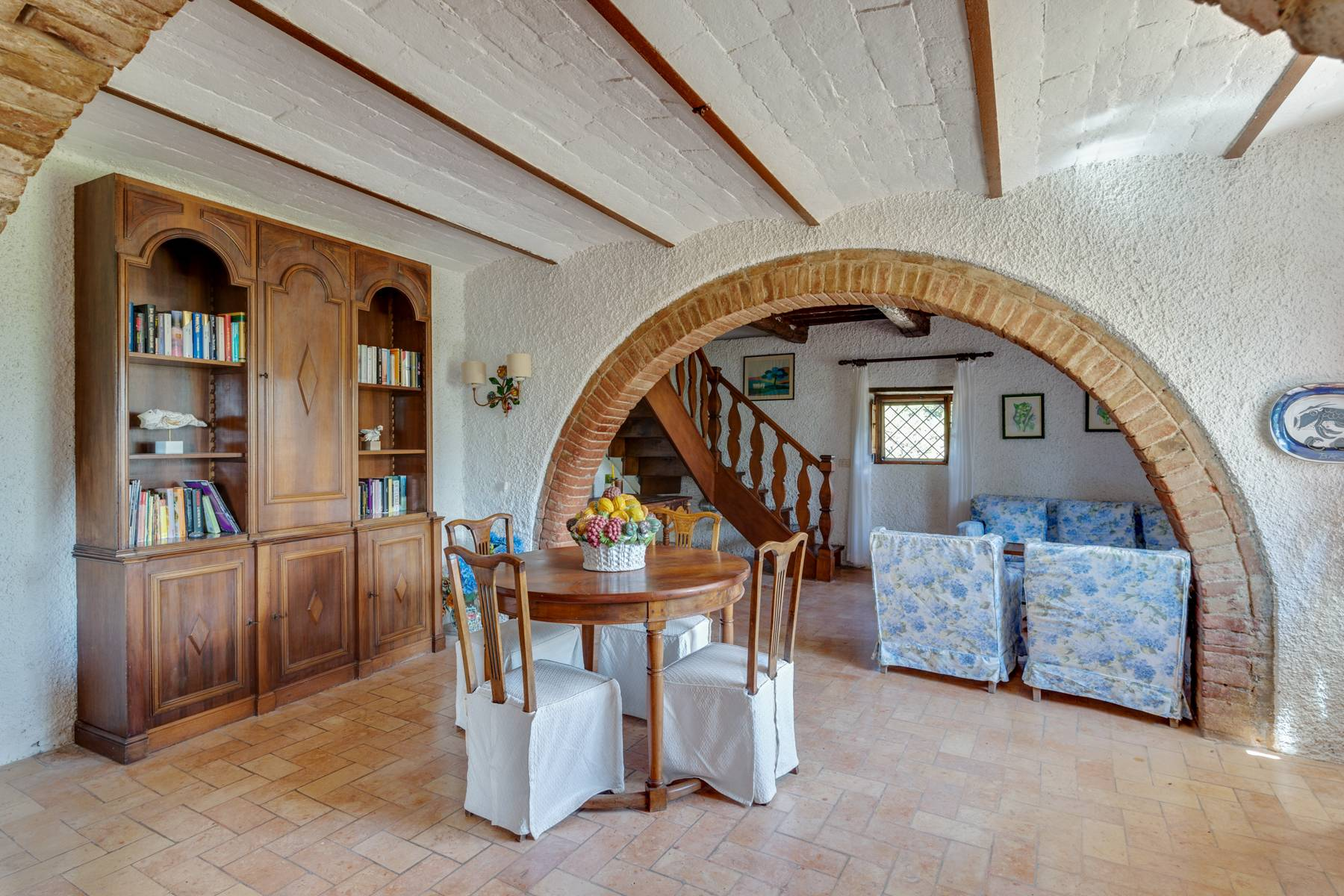 Beautiful XVII century stone farmhouse with pool and panoramic view in Orvieto - 11