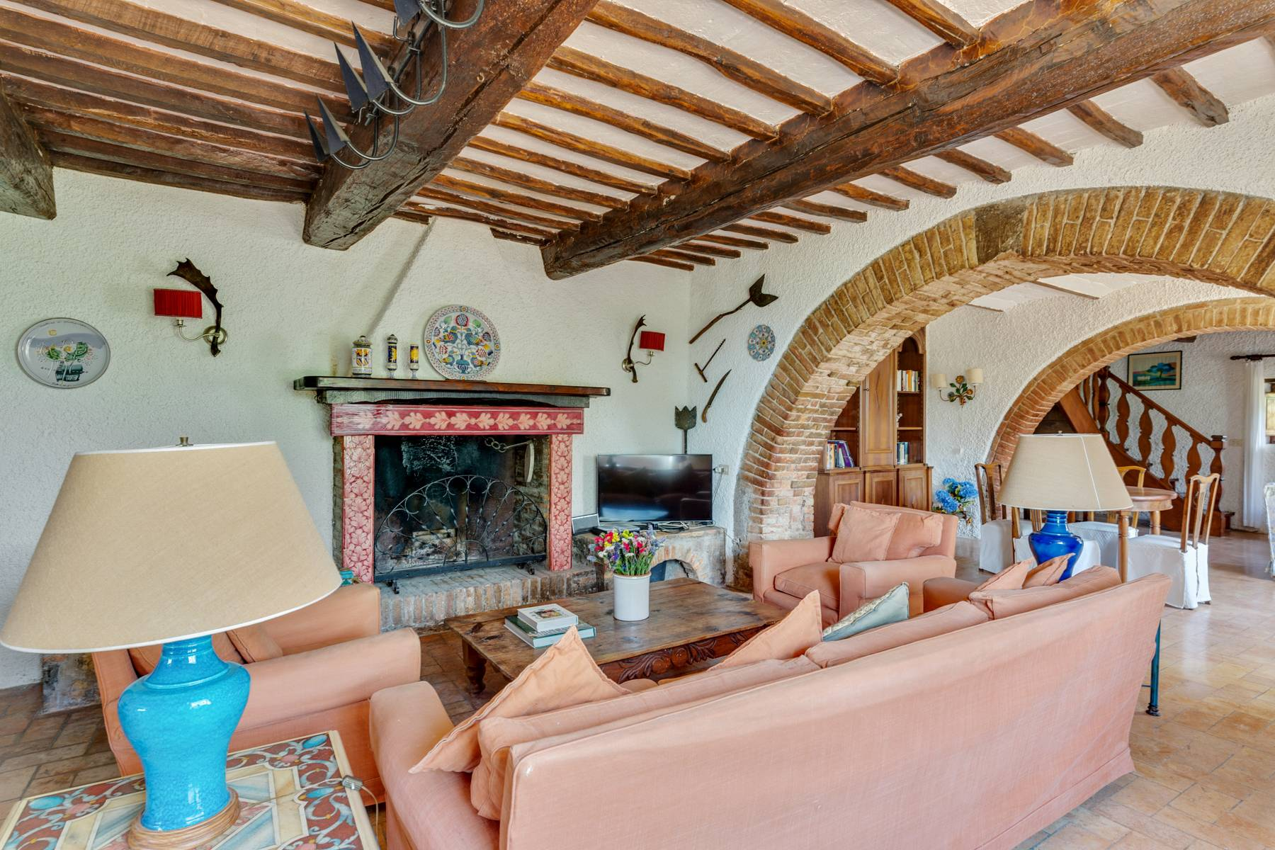 Beautiful XVII century stone farmhouse with pool and panoramic view in Orvieto - 10