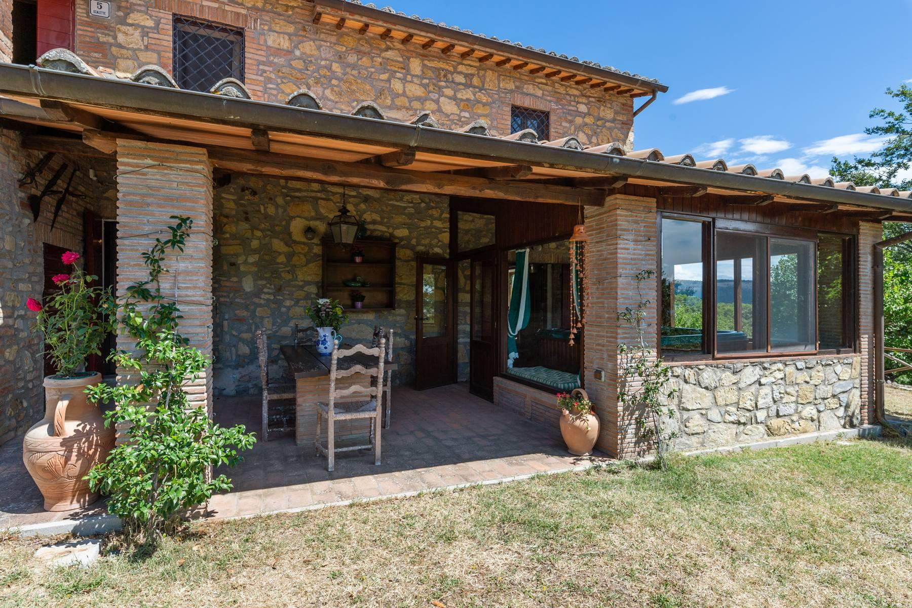 Beautiful XVII century stone farmhouse with pool and panoramic view in Orvieto - 1