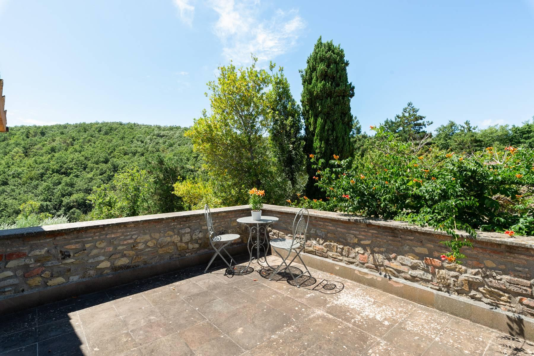 Beautiful XVII century stone farmhouse with pool and panoramic view in Orvieto - 24