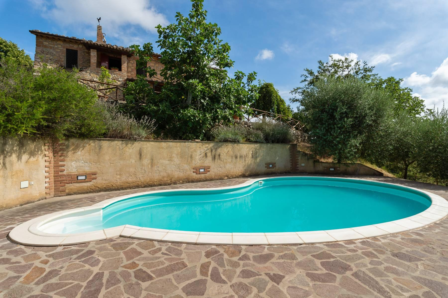 Beautiful XVII century stone farmhouse with pool and panoramic view in Orvieto - 23