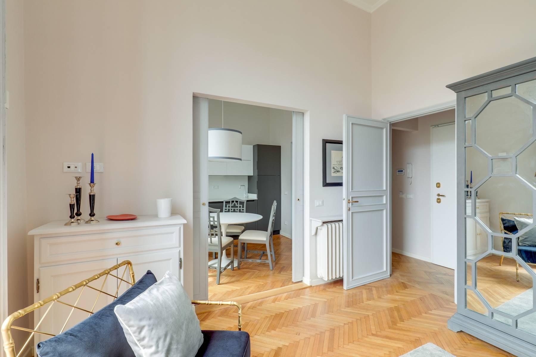 Elegante renovierte Wohnung mit Blick auf das Ponte Vecchio - 12
