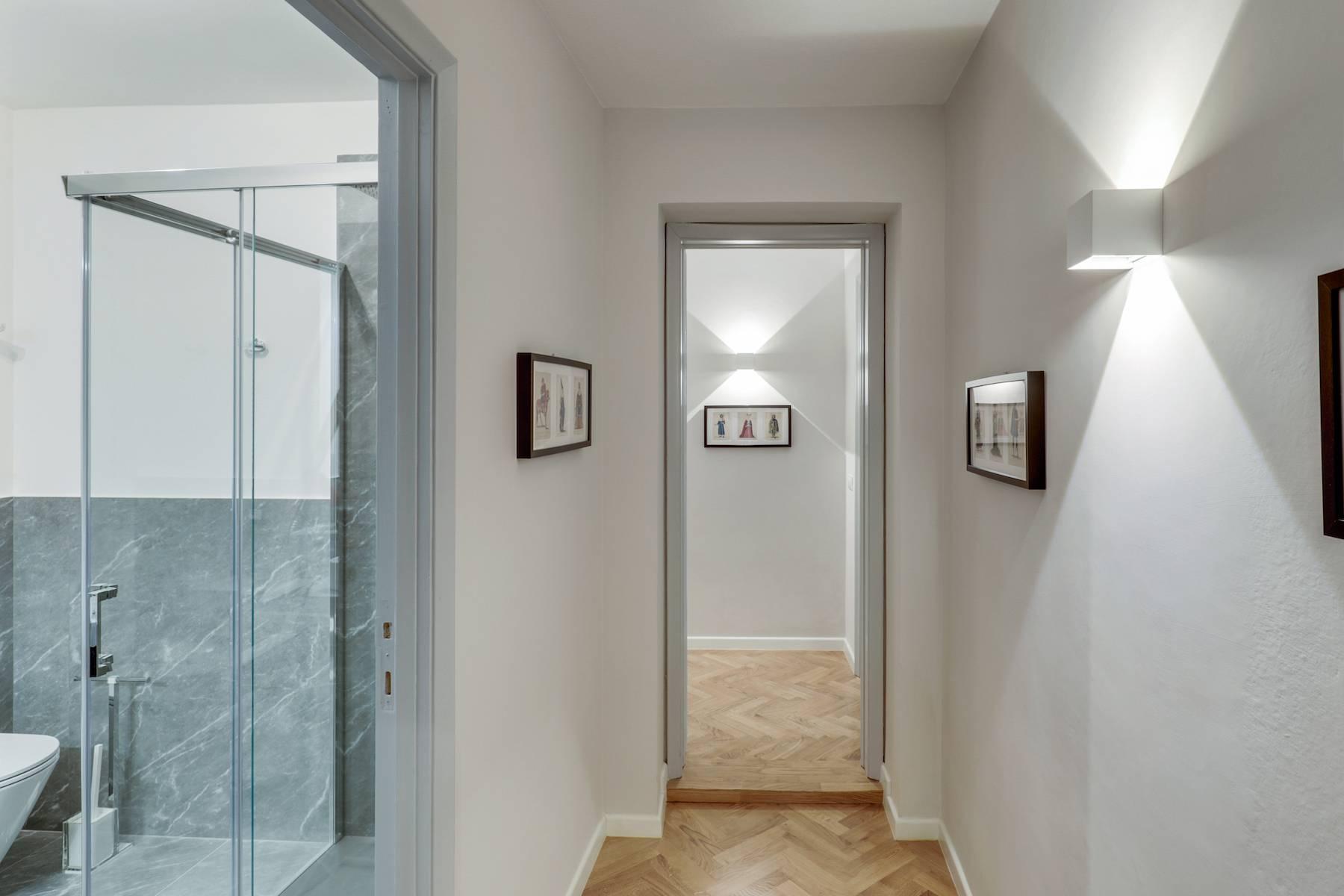 Elegante renovierte Wohnung mit Blick auf das Ponte Vecchio - 11