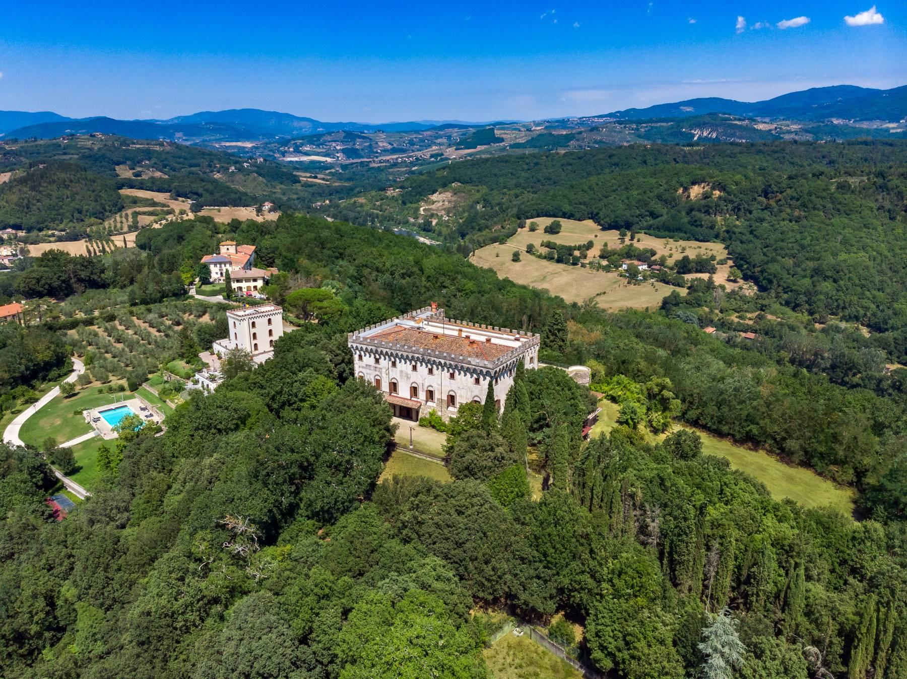 Luxurious Castle for Sale on the Florentine Hills - 24