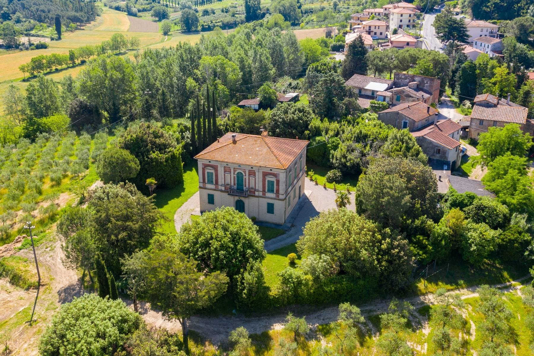 Elegant Historic Villa  in 23 Hectare Estate in the Province of Pisa. - 21