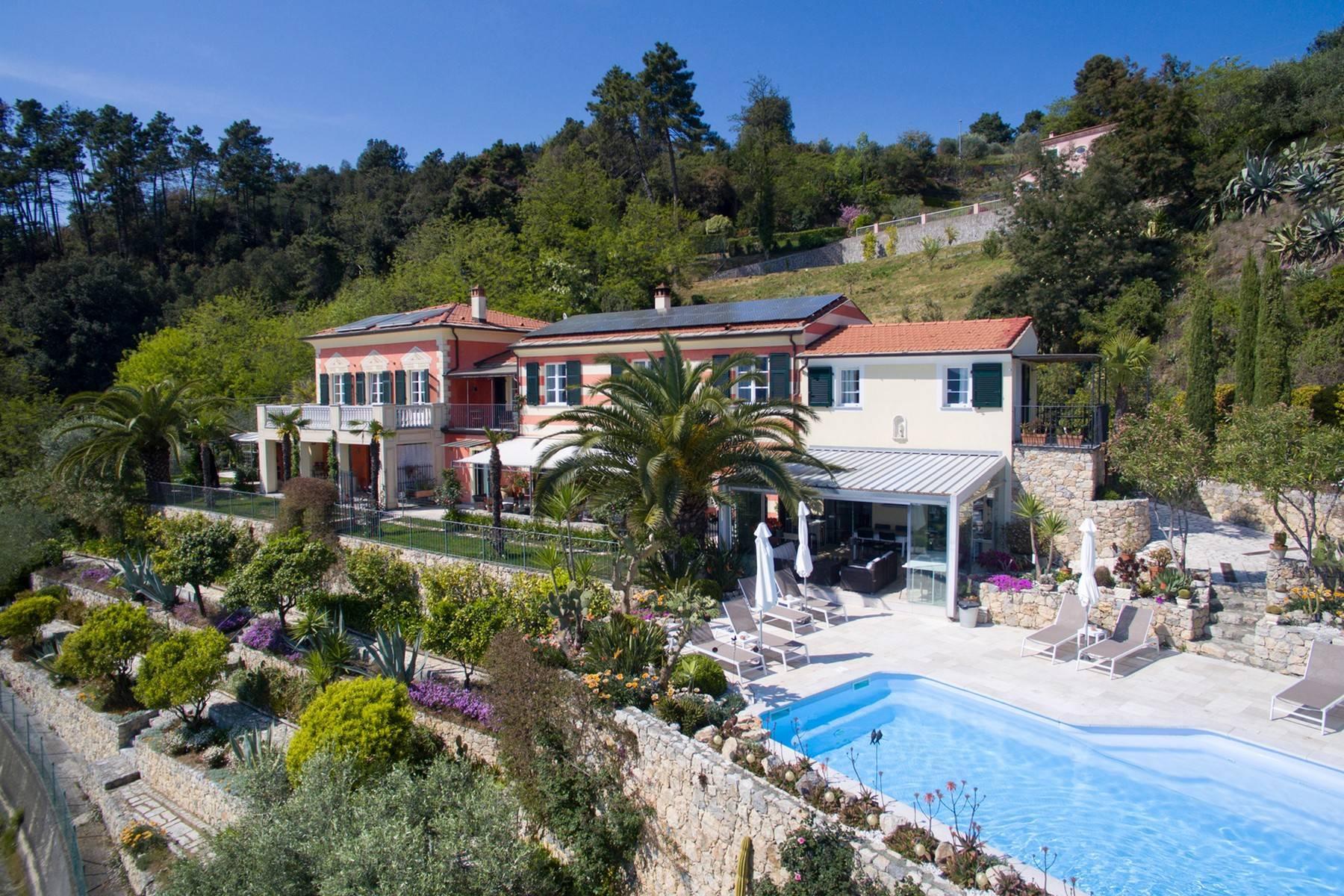 Wunderschöne Villa mit Blick auf die Bucht von La Spezia - 1