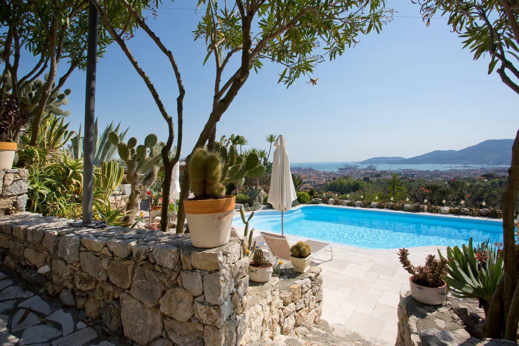 Wunderschöne Villa mit Blick auf die Bucht von La Spezia - 4