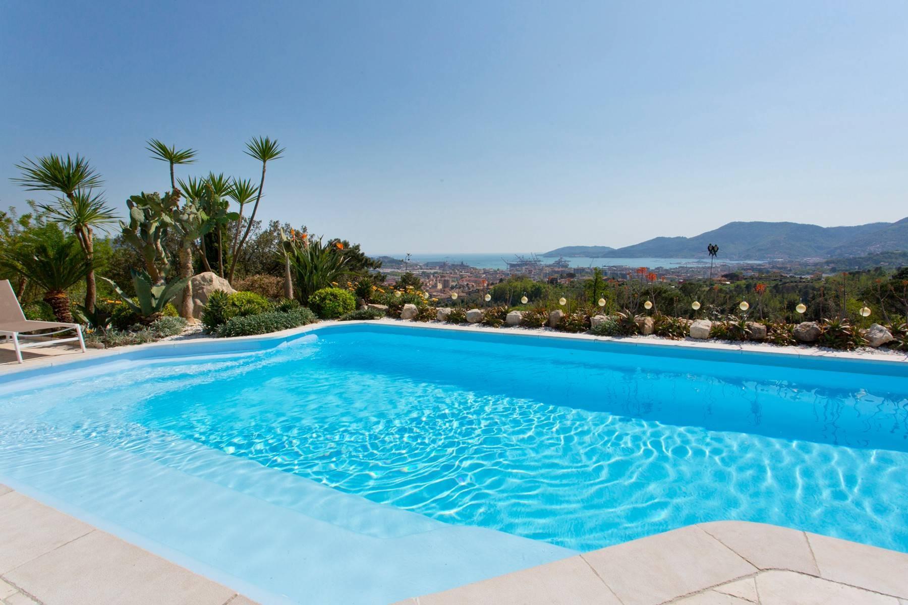Wunderschöne Villa mit Blick auf die Bucht von La Spezia - 14