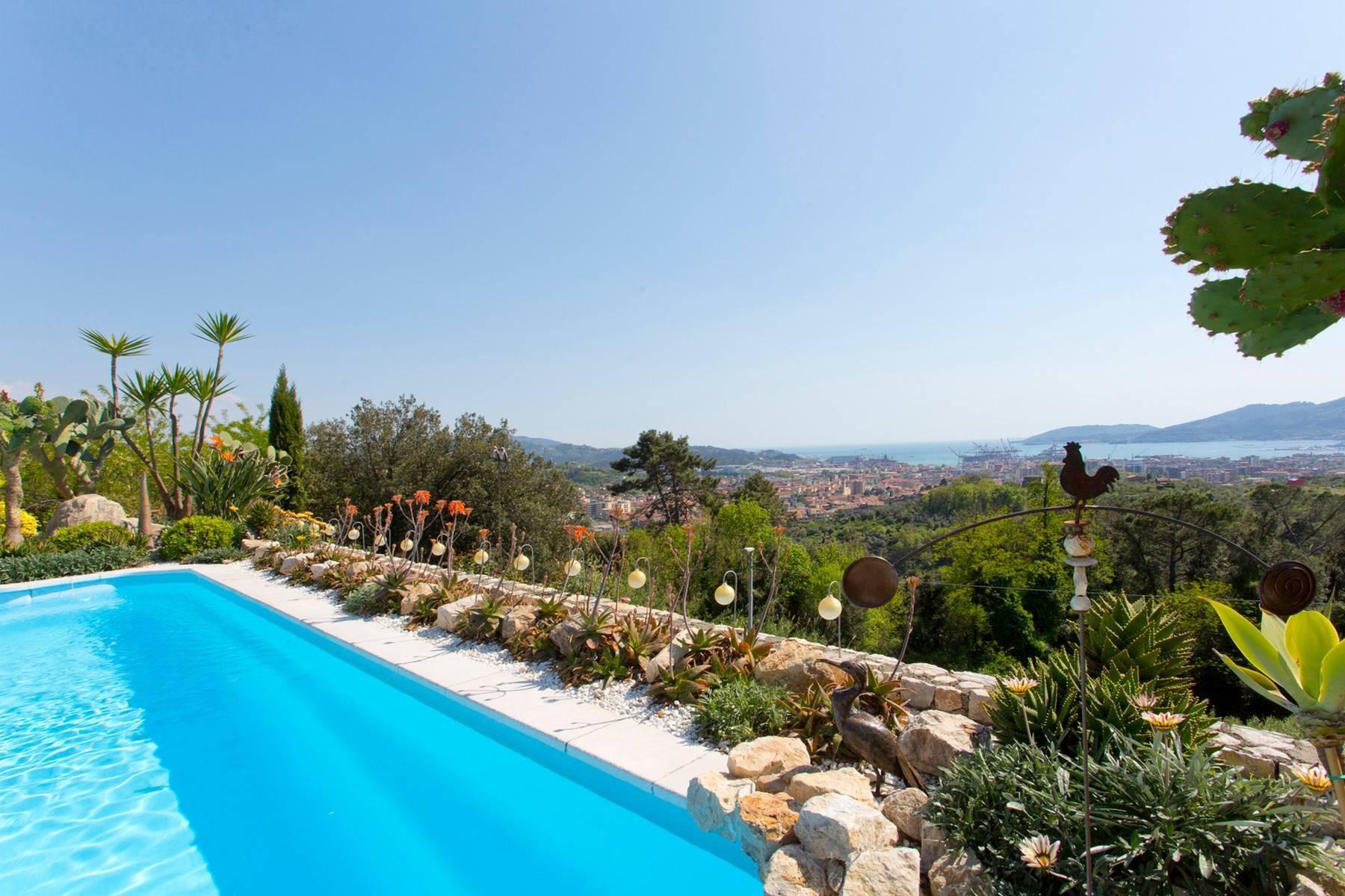 Wunderschöne Villa mit Blick auf die Bucht von La Spezia - 15