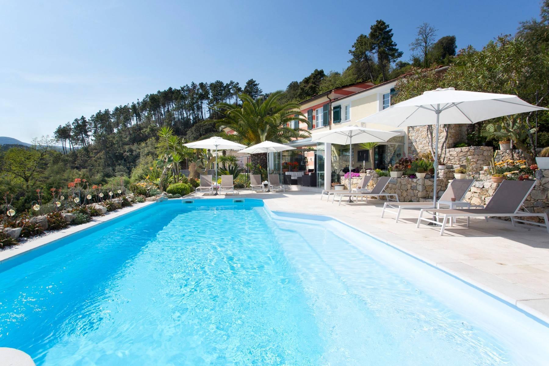 Wunderschöne Villa mit Blick auf die Bucht von La Spezia - 2