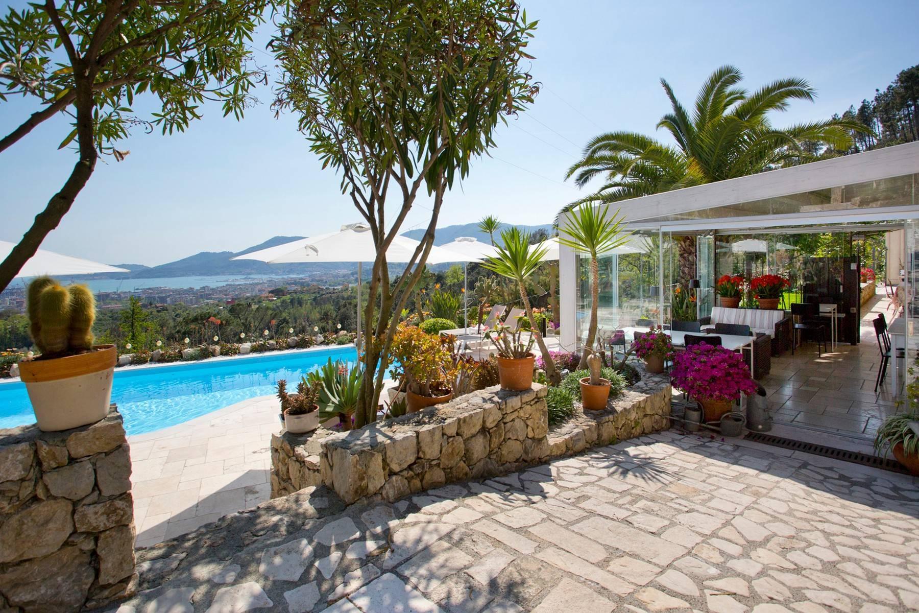 Wunderschöne Villa mit Blick auf die Bucht von La Spezia - 17