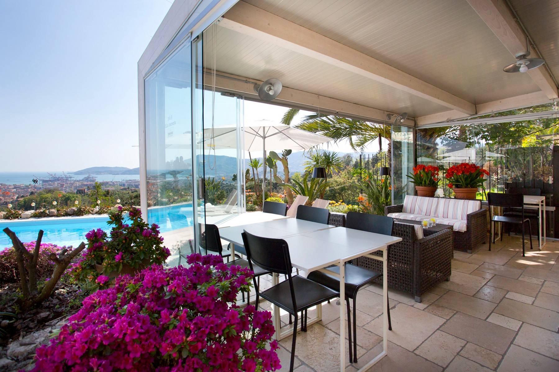 Wunderschöne Villa mit Blick auf die Bucht von La Spezia - 5