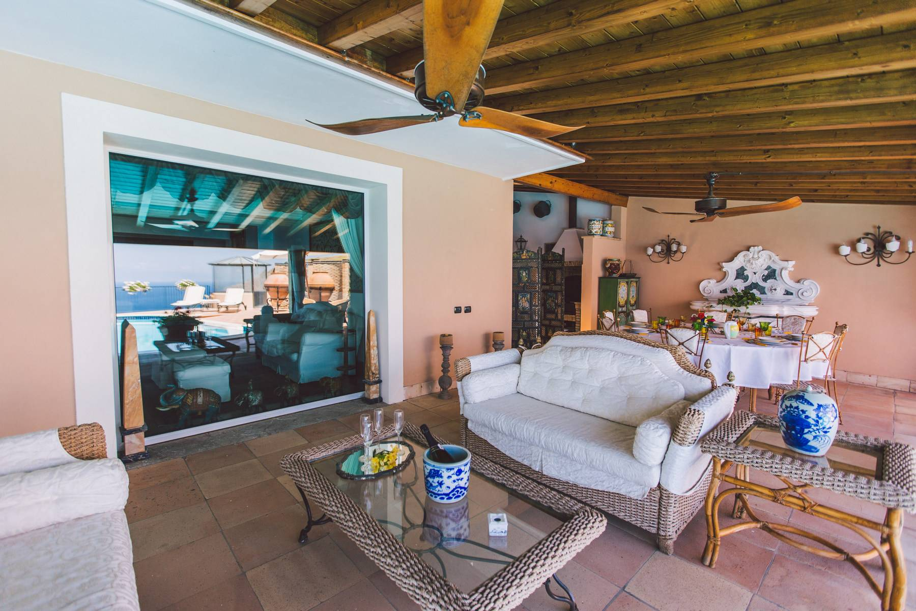 Villa mit Pool in Taormina - 3
