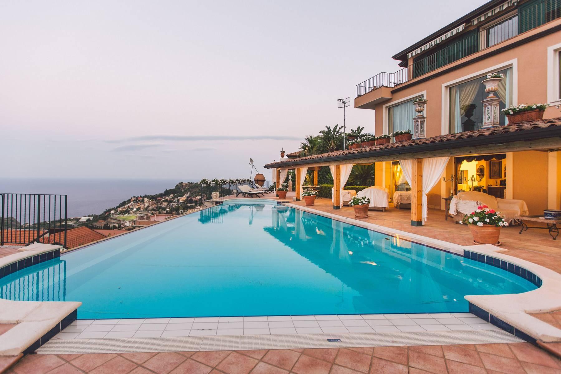 Villa mit Pool in Taormina - 6