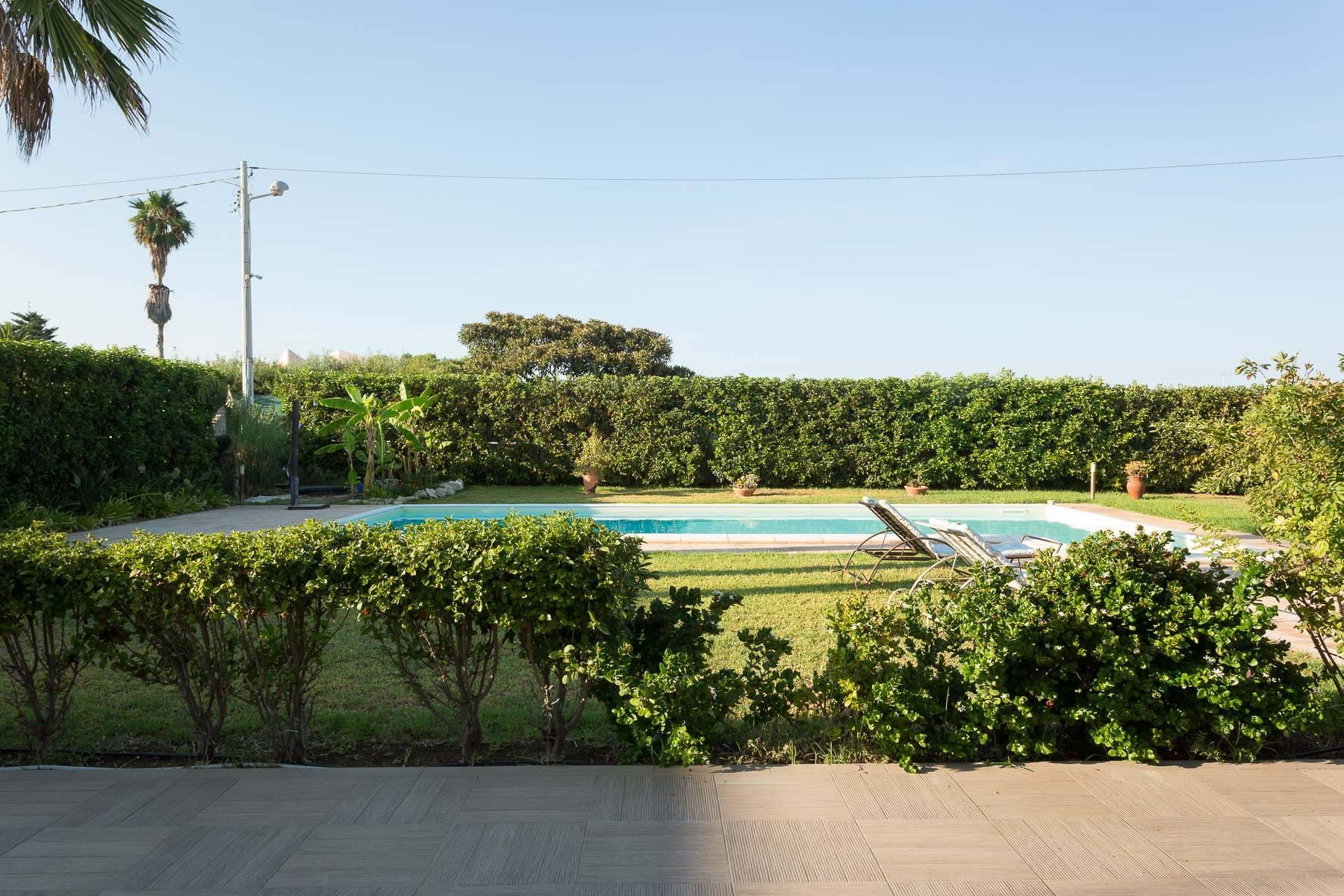 Villa mit beheiztem Pool im Plemmirio - 14