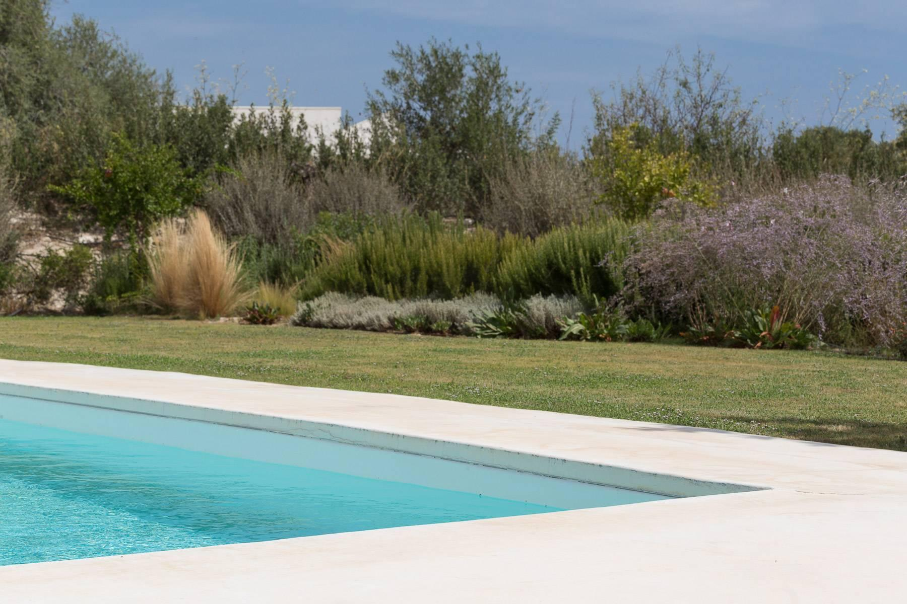 Modern villa with swimming pool overlooking the Vendicari natural Reserve - 21
