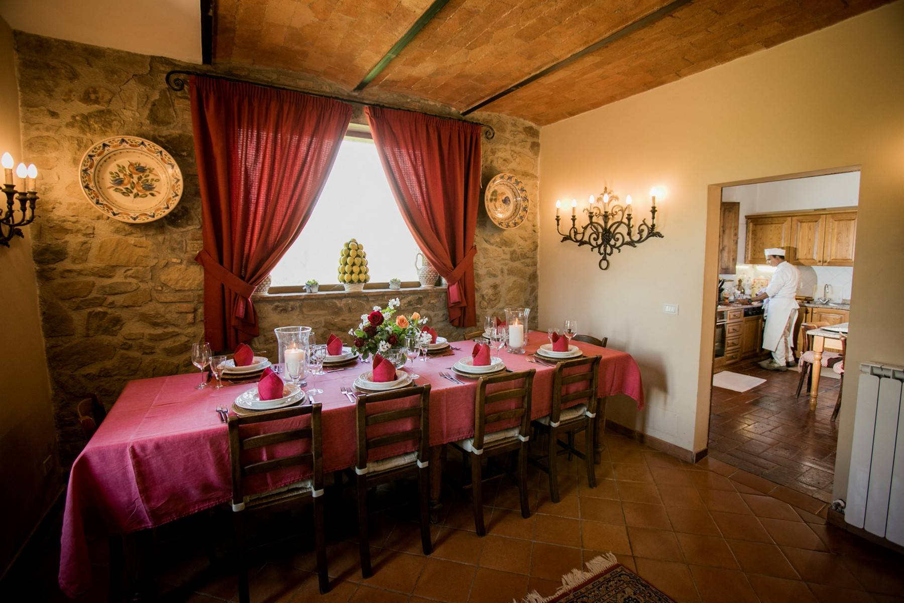 House in the Tuscan Hills for Sale - 14
