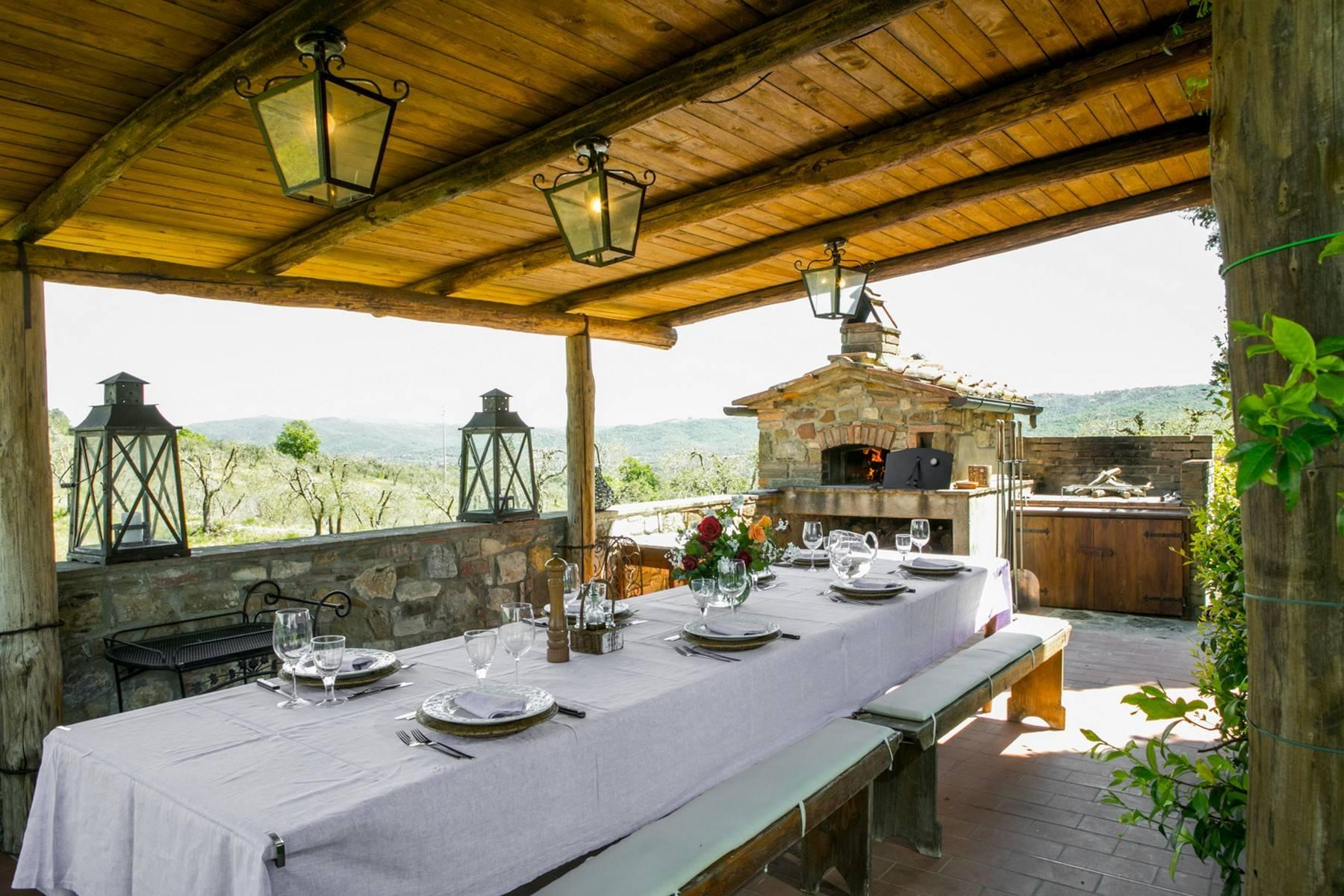 Rustic House in the Tuscan Hills for Sale - 8