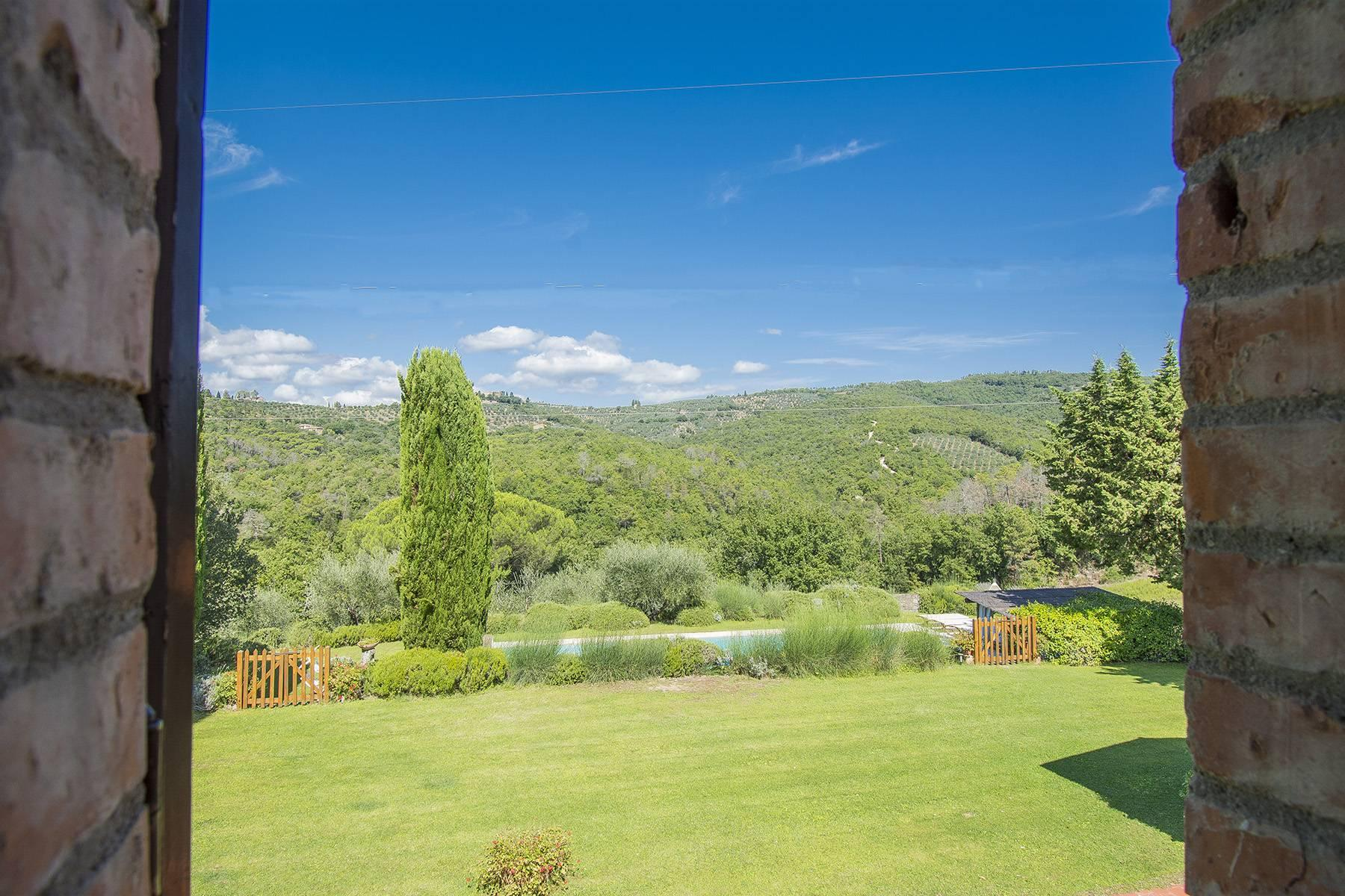 Rustic House in the Tuscan Hills for Sale - 27