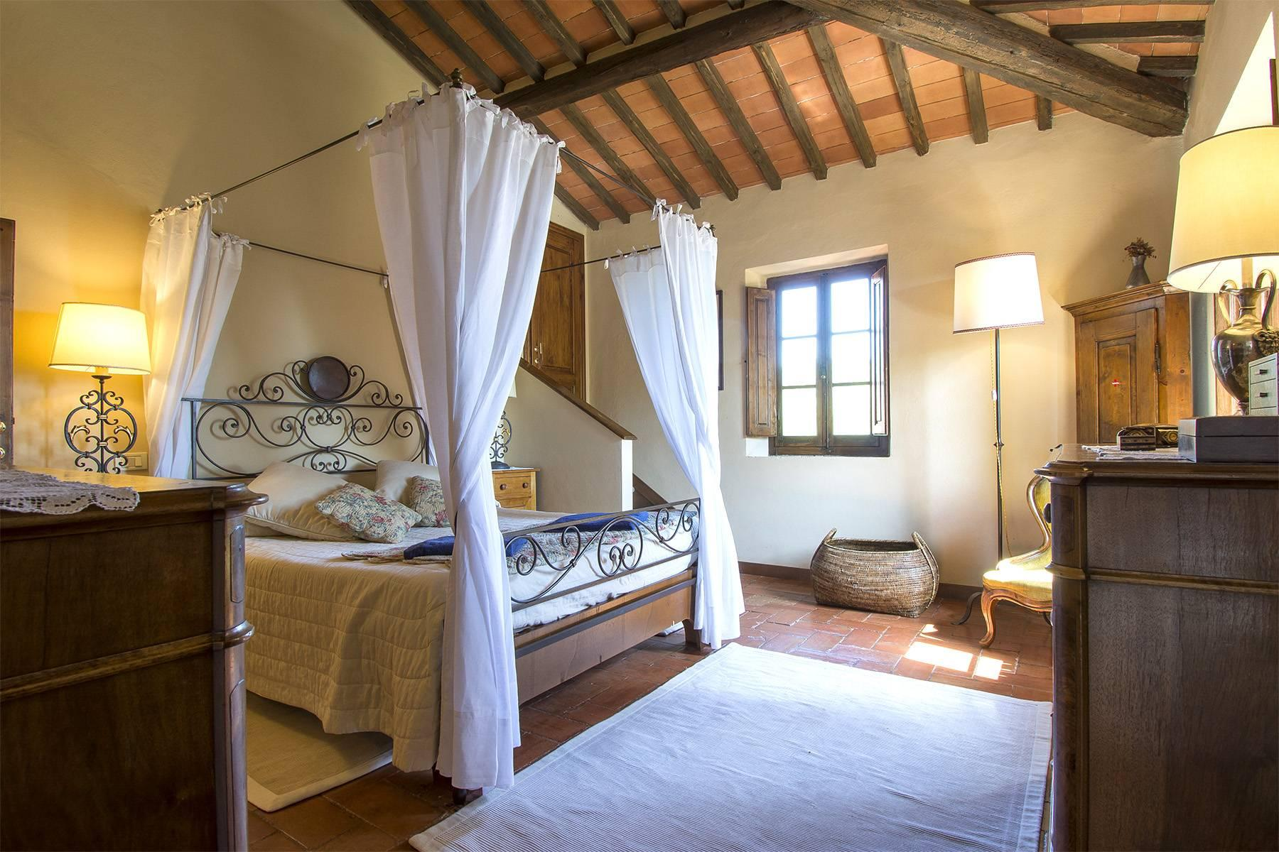 Rustic House in the Tuscan Hills for Sale - 28