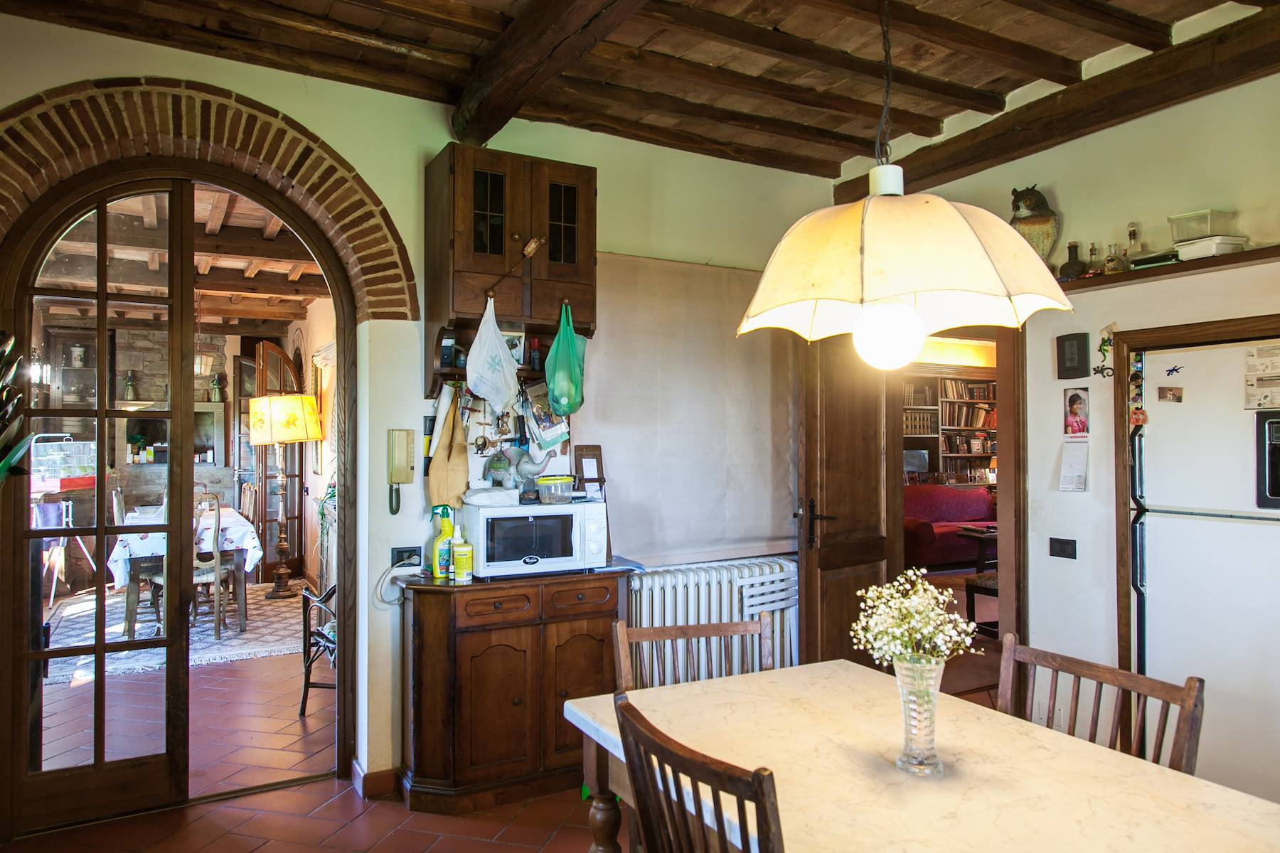 Historische Villa in der toskanischen Landschaft - 24