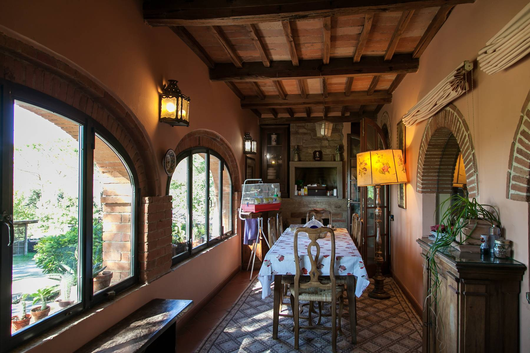 Historische Villa in der toskanischen Landschaft - 25