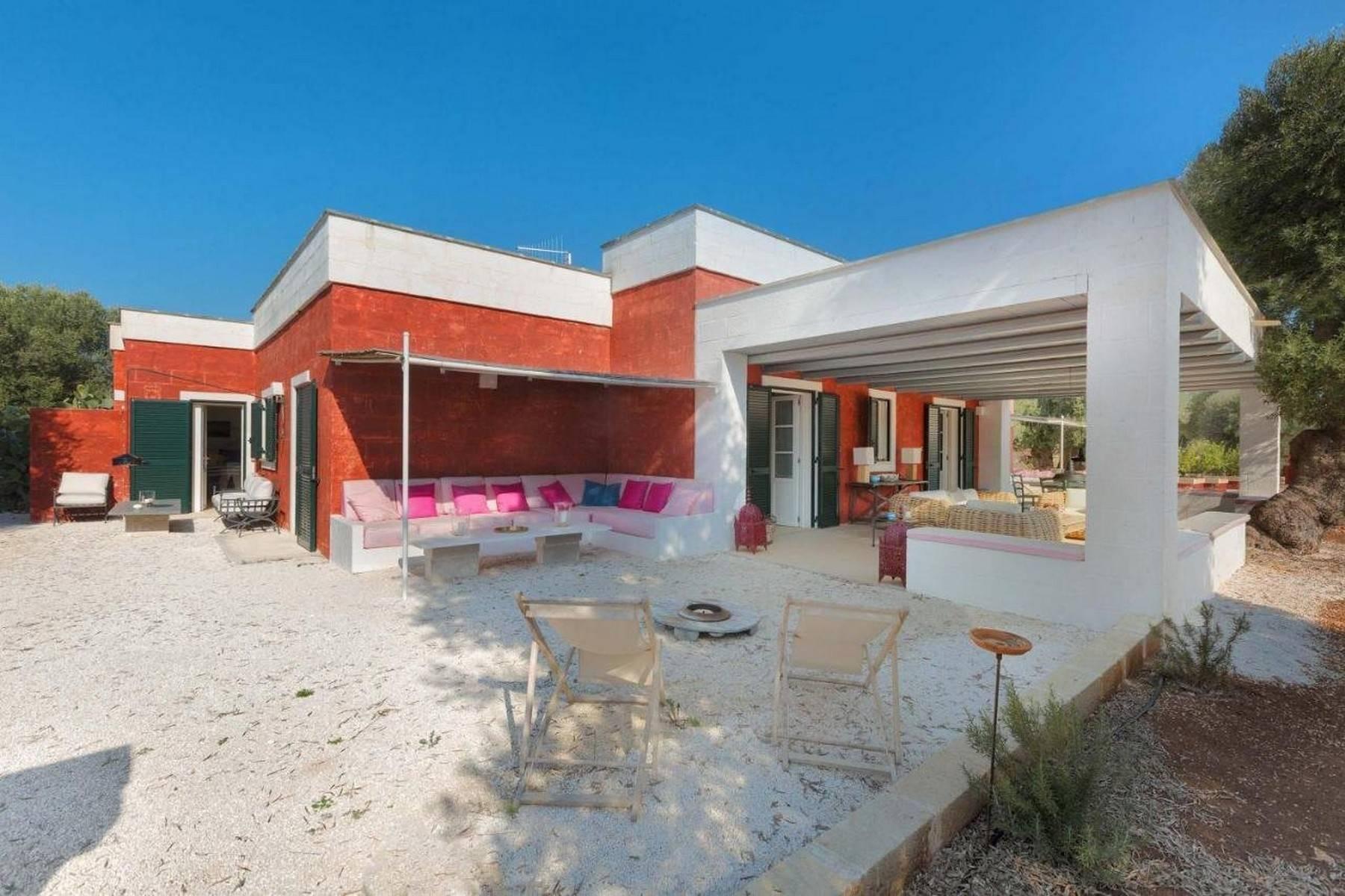 Splendida villa con piscina nella campagna di Ostuni - 2
