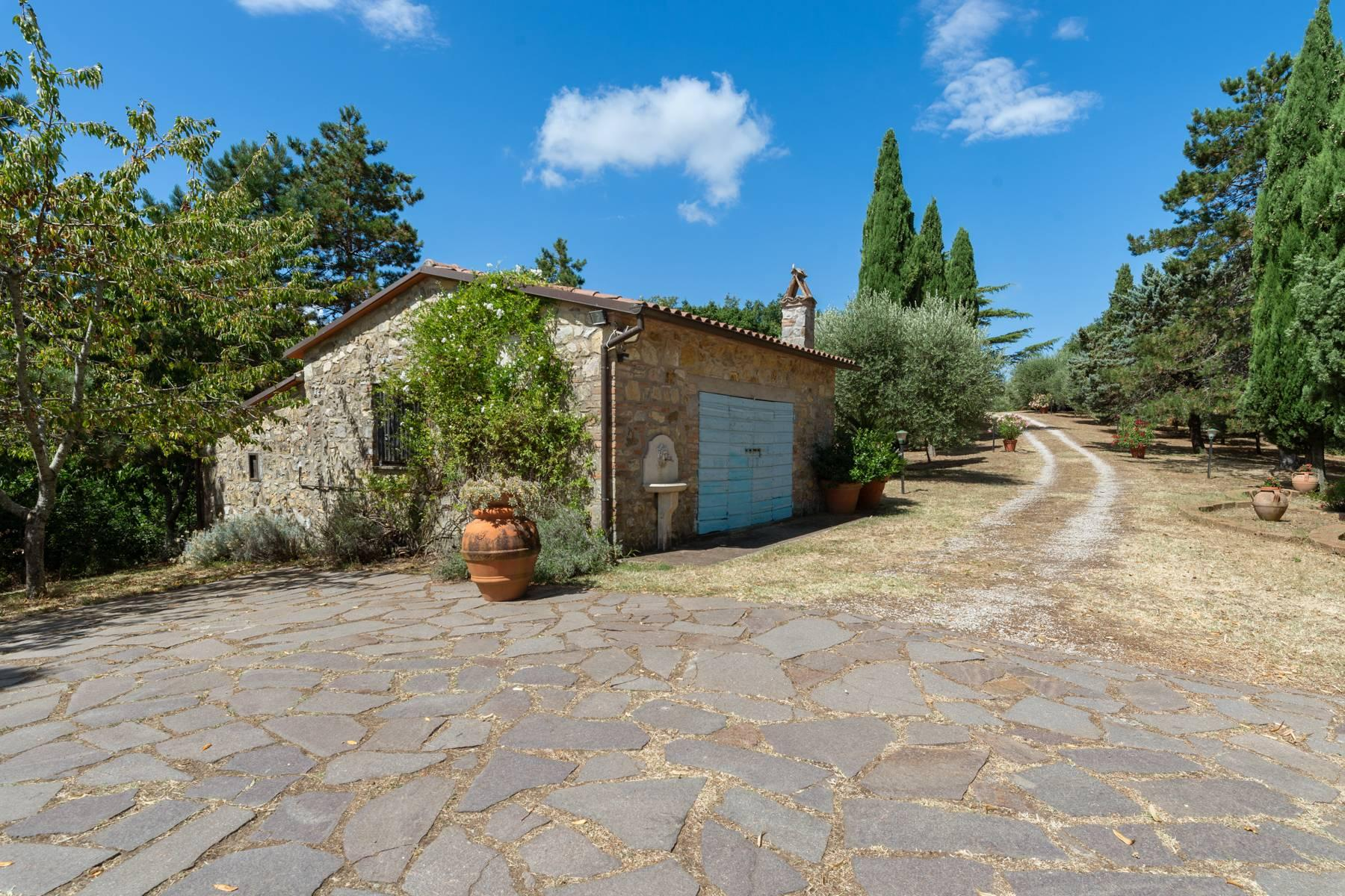 Beautiful XVII century stone farmhouse with pool and panoramic view in Orvieto - 6