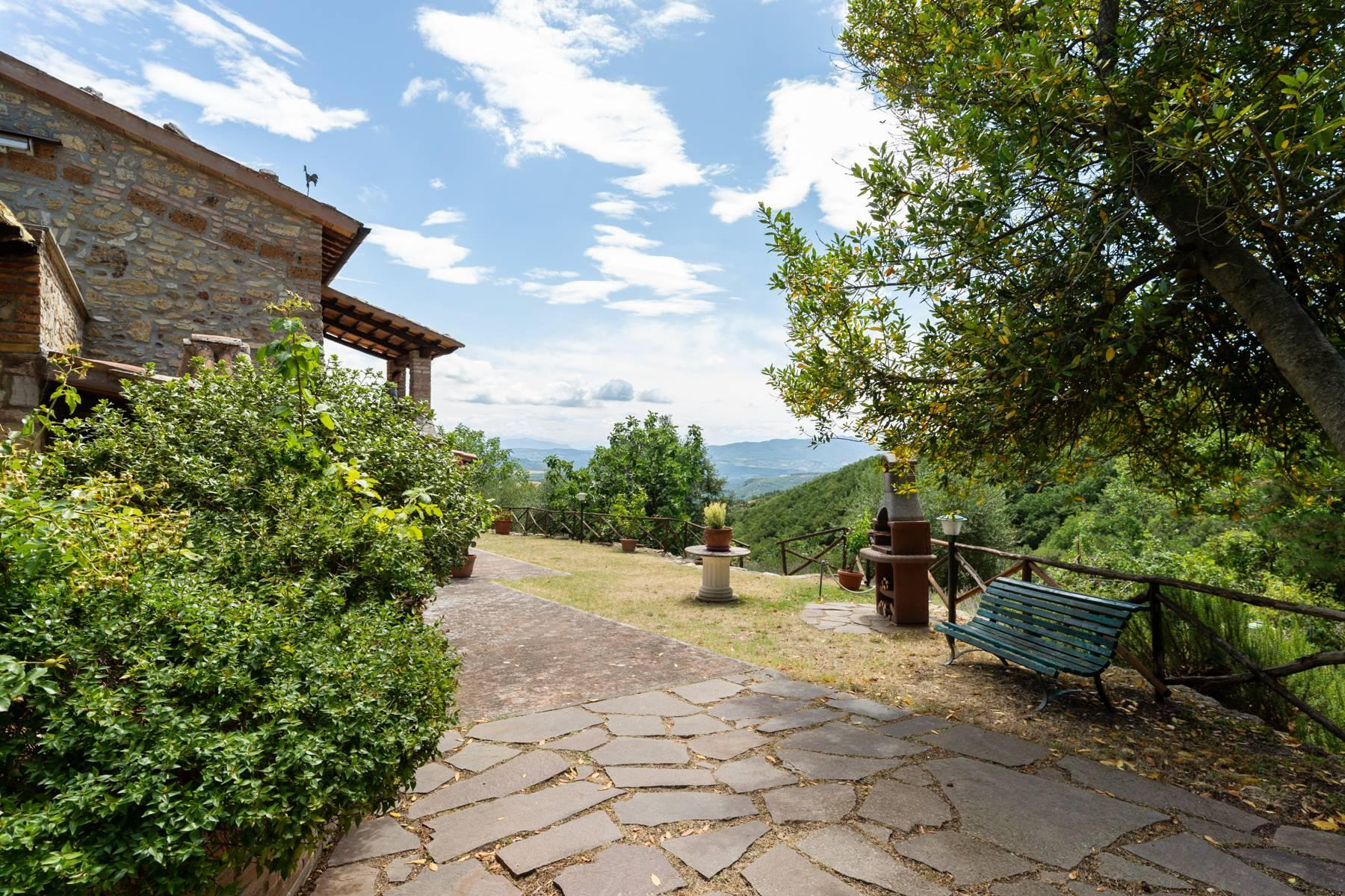 Beautiful XVII century stone farmhouse with pool and panoramic view in Orvieto - 5