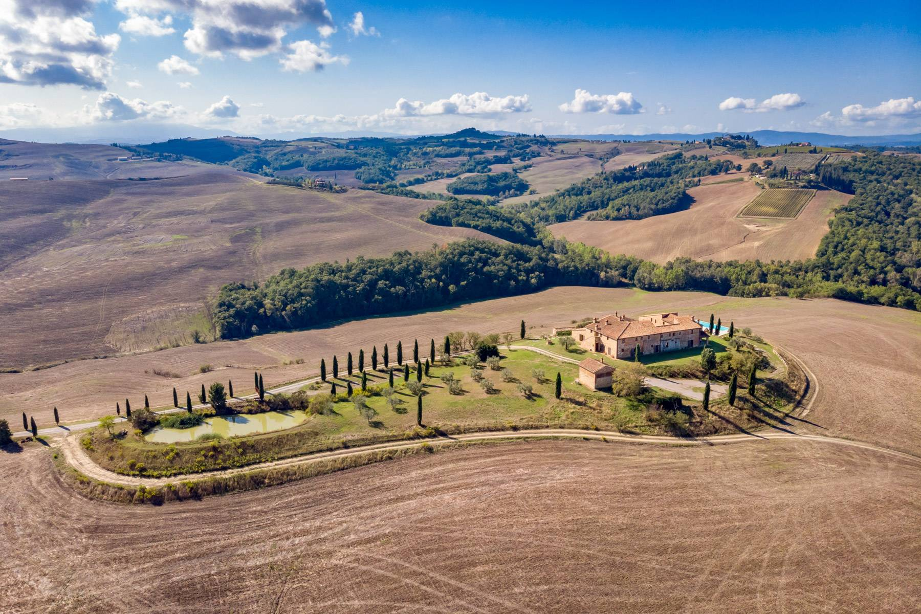 Wonderful tuscan countryhouse on the hills around Siena - 15