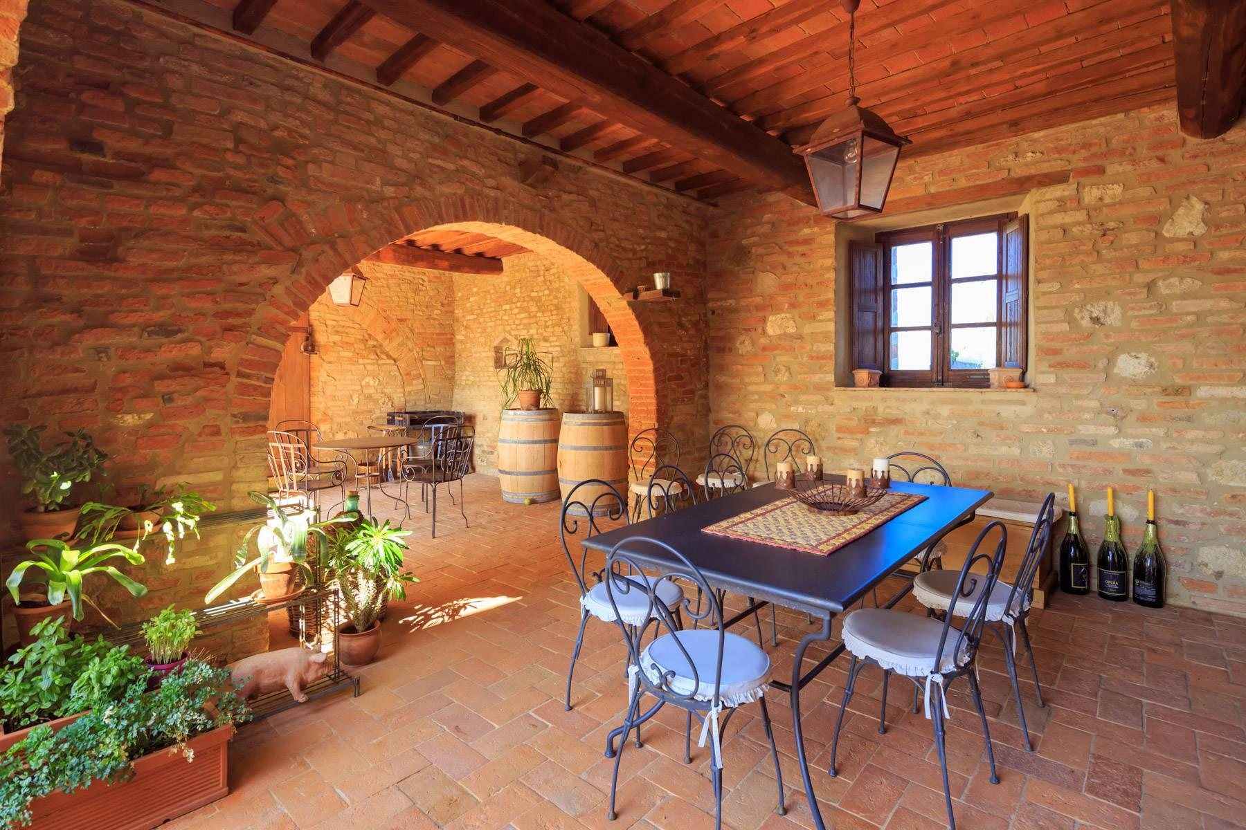 Wonderful tuscan countryhouse on the hills around Siena - 5