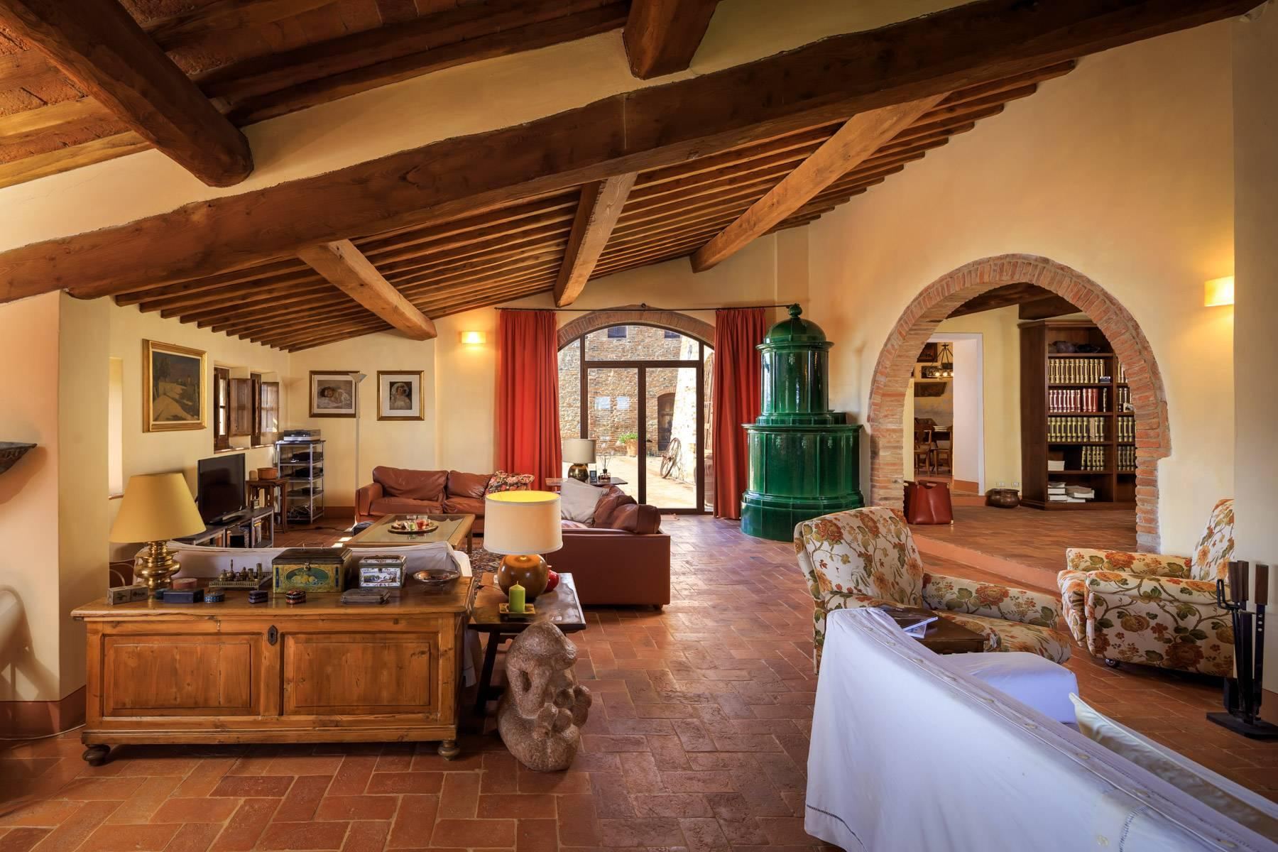 Wonderful tuscan countryhouse on the hills around Siena - 8