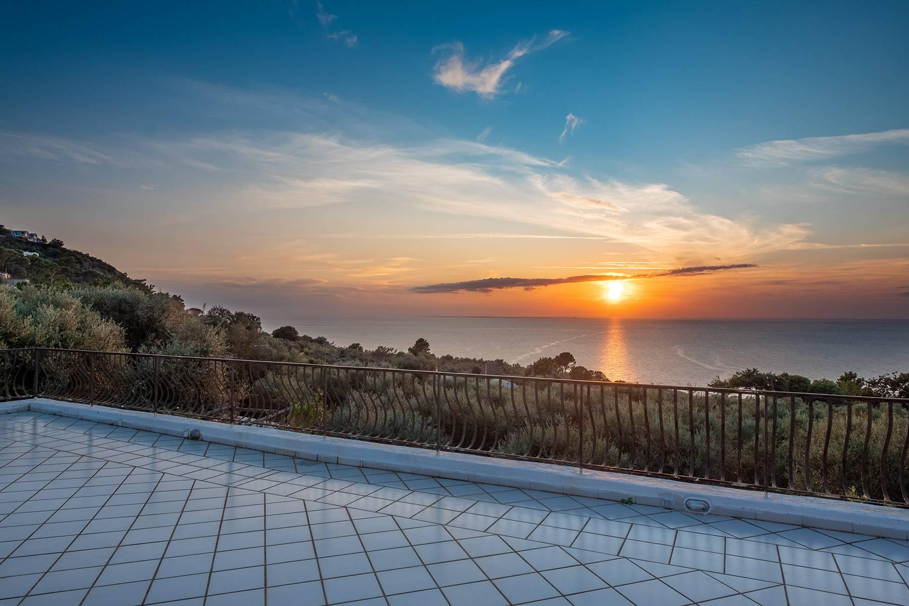 Charming villa with olive grove and swimming pool overlooking the sea - 1