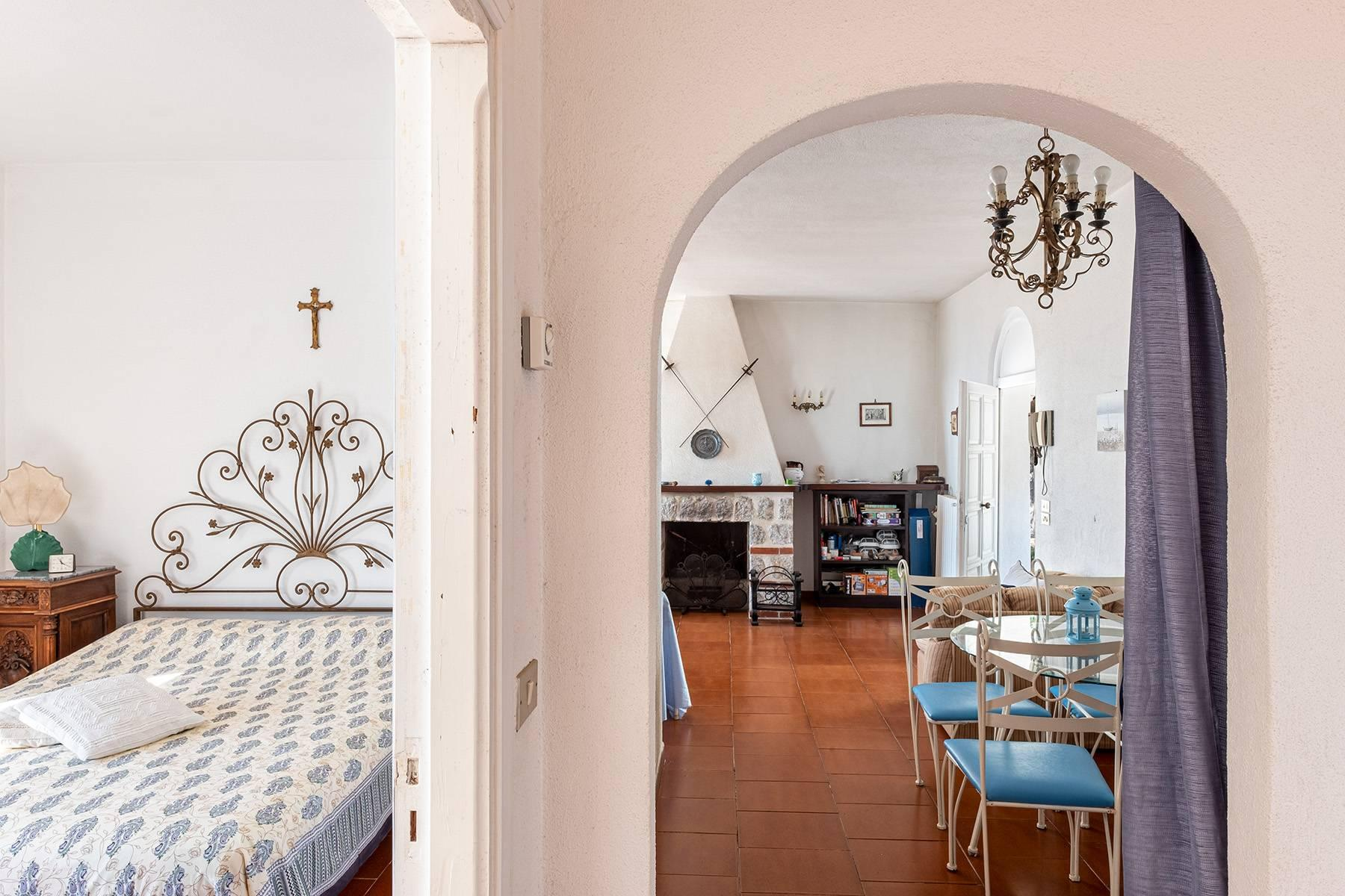 Charming villa with olive grove and swimming pool overlooking the sea - 13
