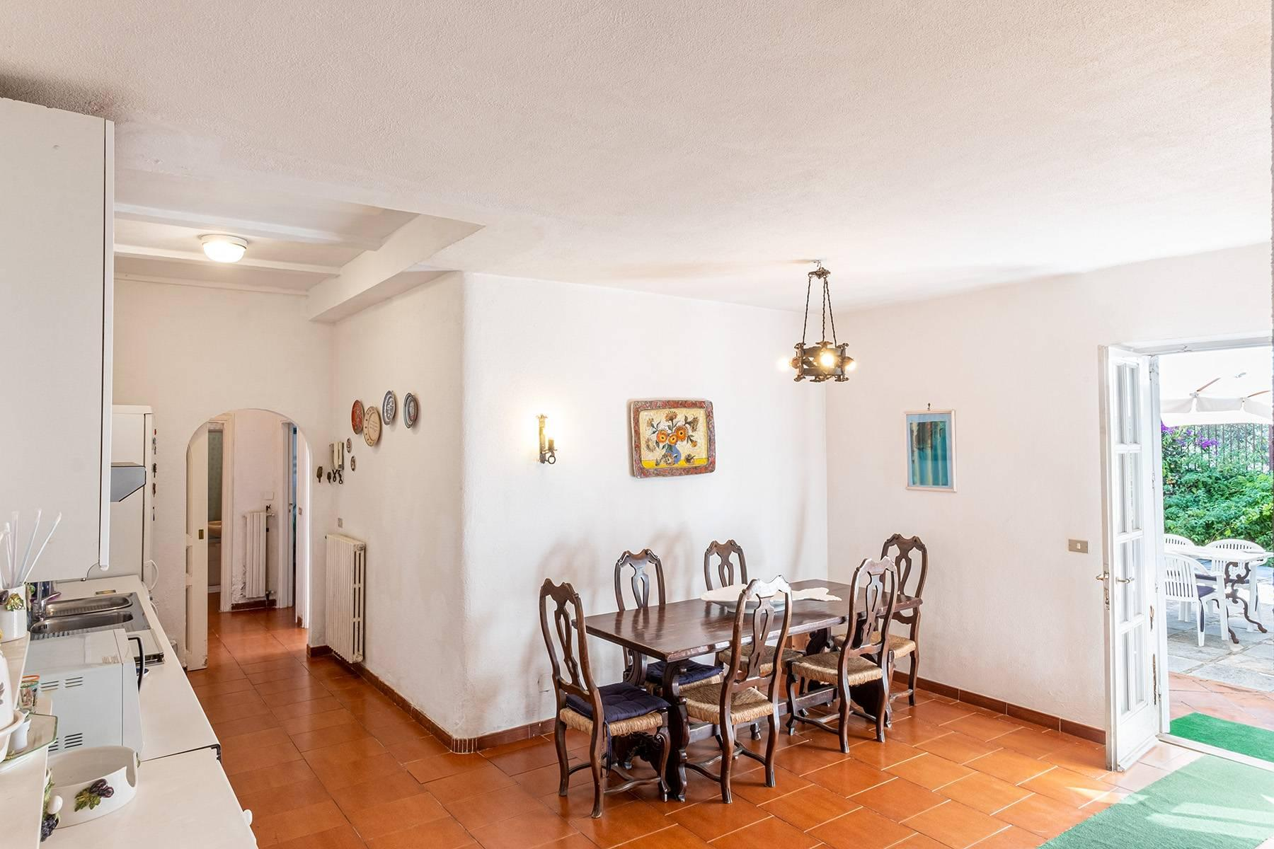 Charming villa with olive grove and swimming pool overlooking the sea - 14