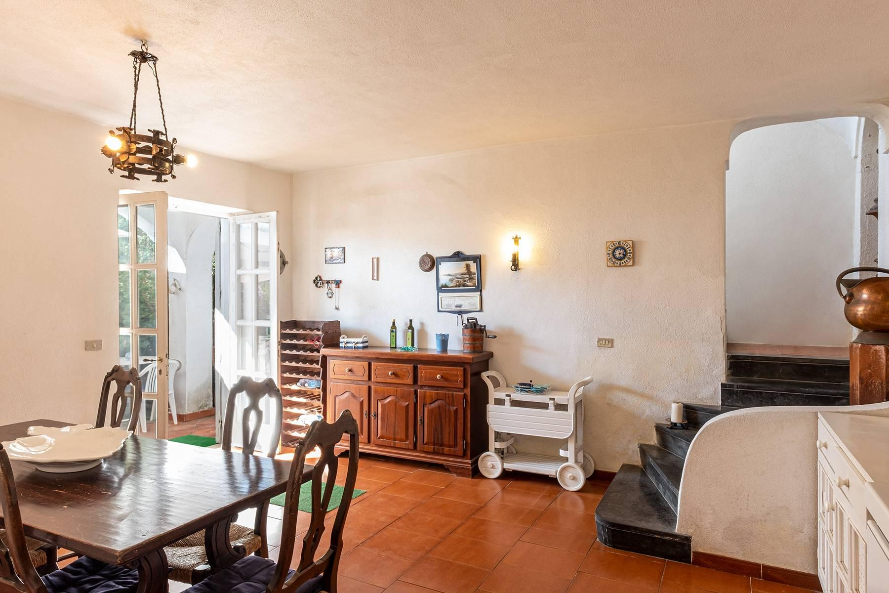 Charming villa with olive grove and swimming pool overlooking the sea - 15