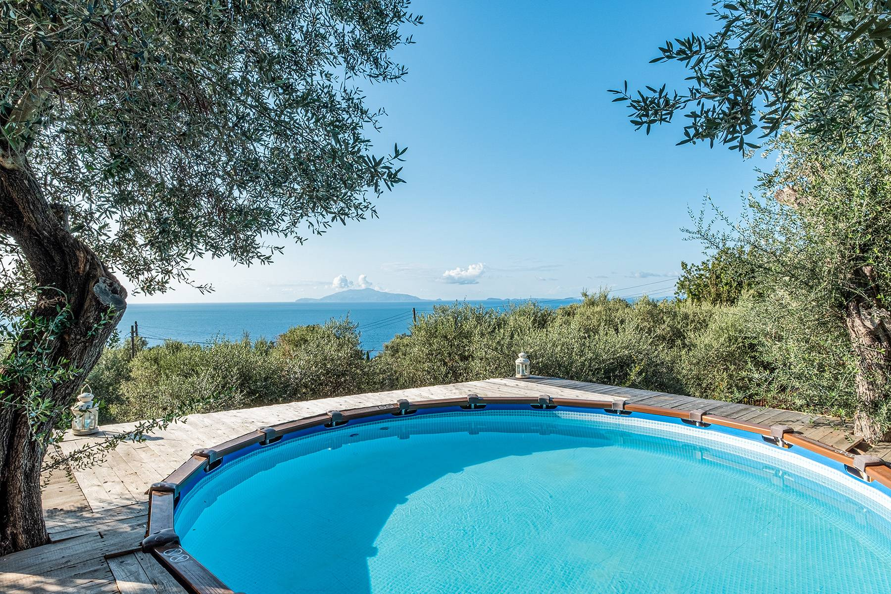 Charming villa with olive grove and swimming pool overlooking the sea - 6