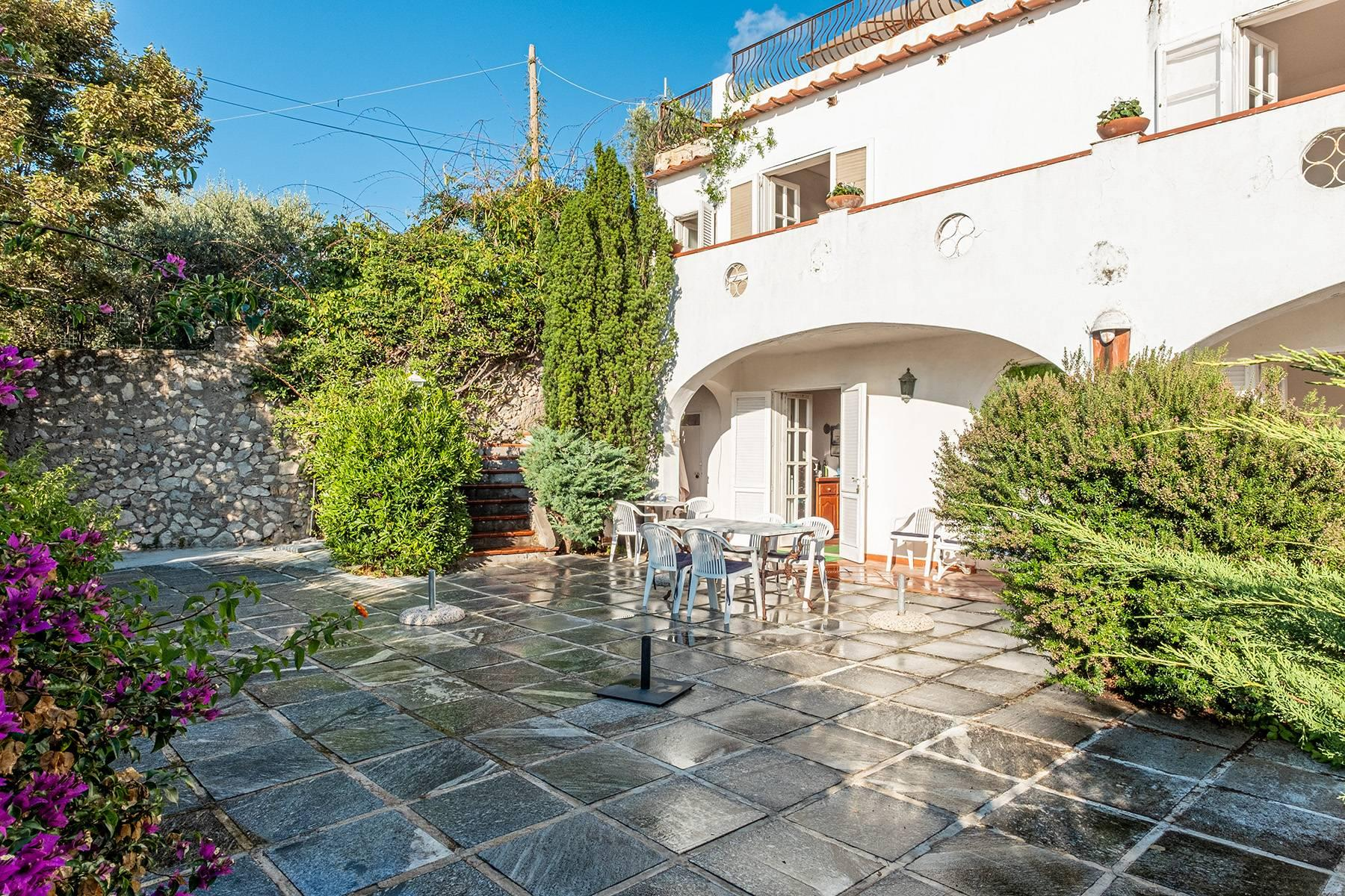 Charming villa with olive grove and swimming pool overlooking the sea - 24
