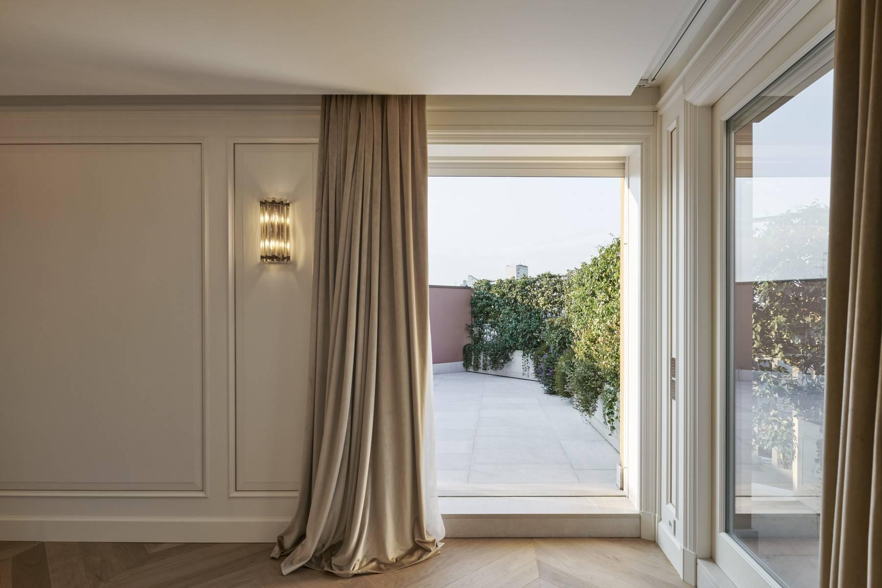Penthouse spectaculaire dans le Quartier de la Mode à Milan - 7