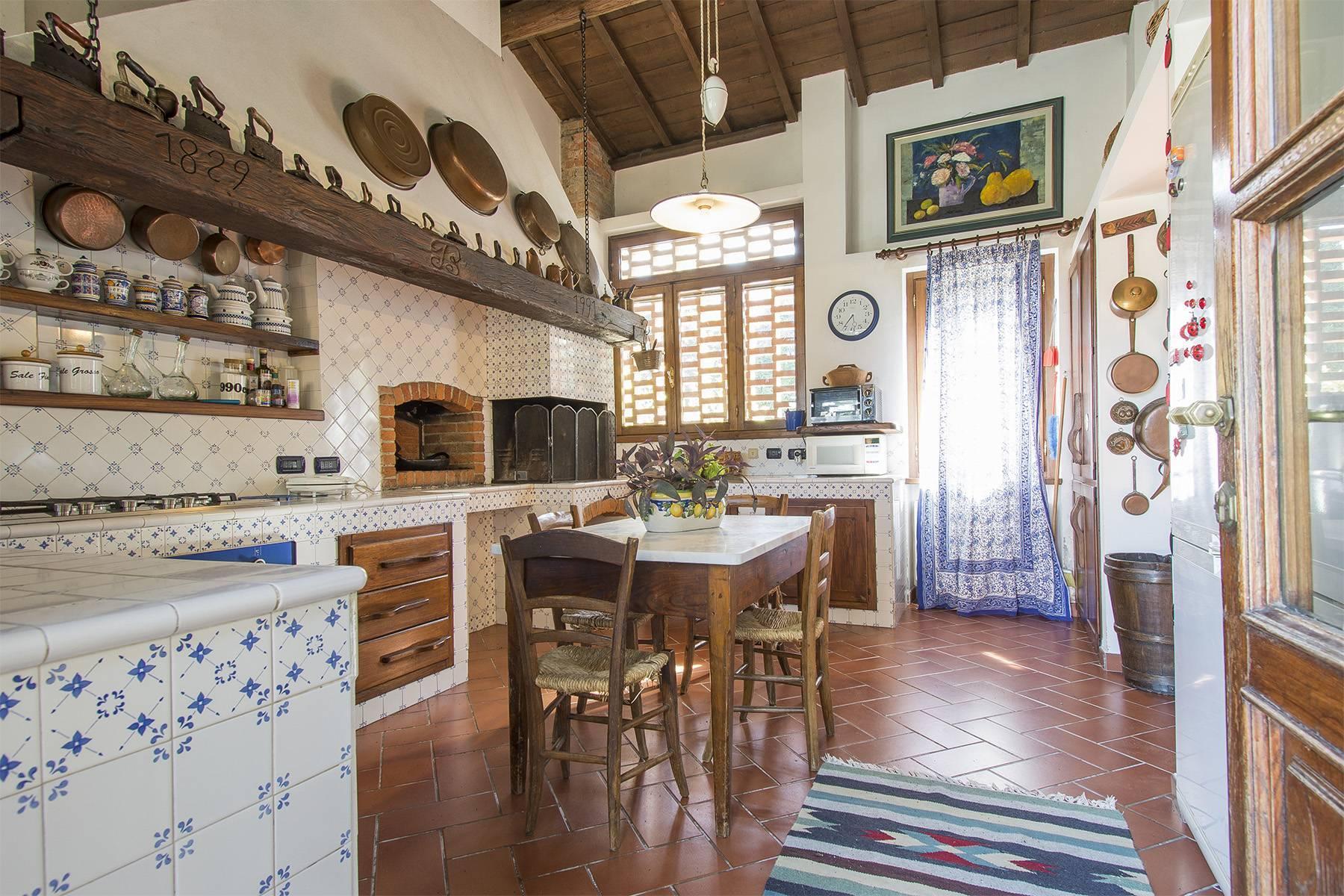 Bauernhaus mit Reitschule auf dem toskanischen Landschaft - 11